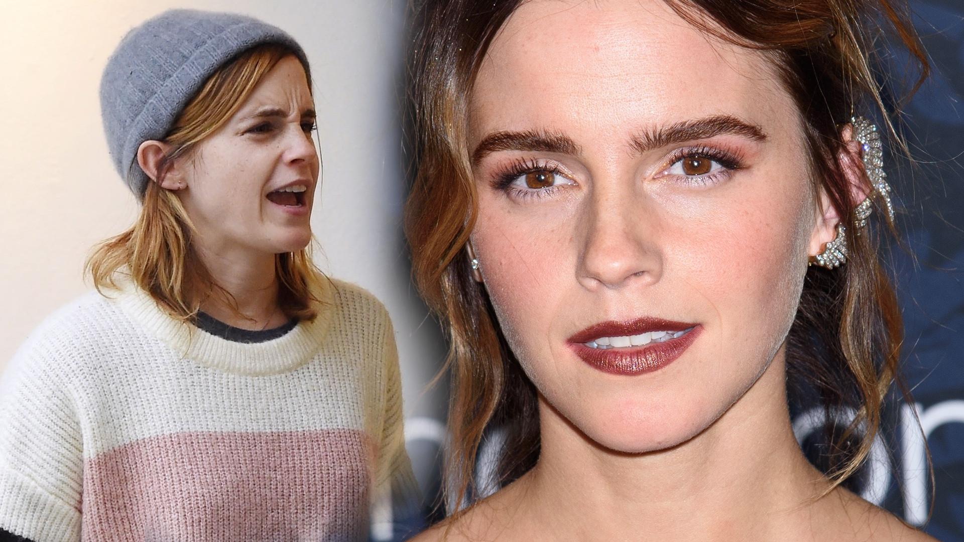 Emma Watson skrytykowana za czarne kwadraty w białych ramkach