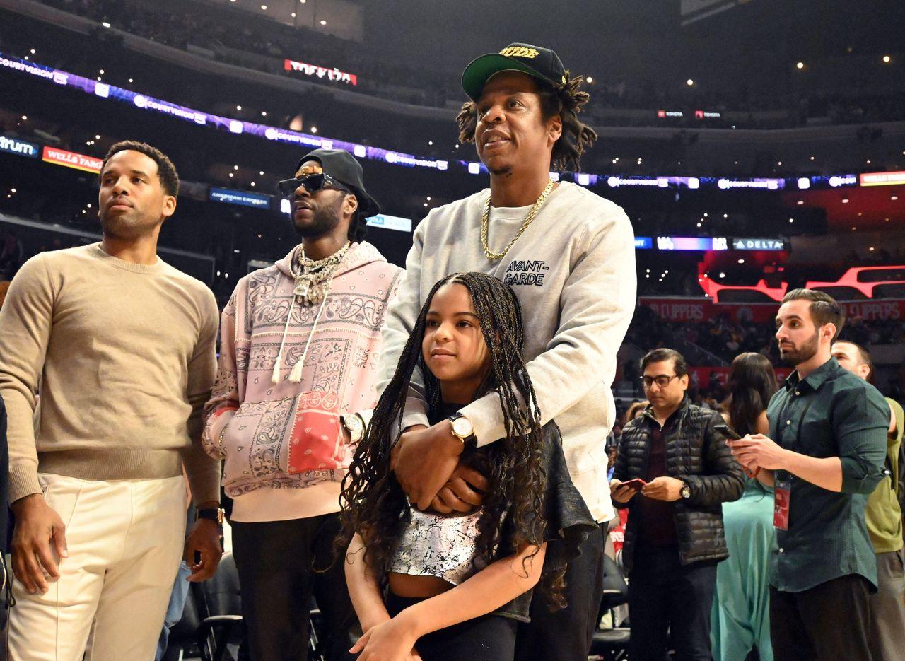 Jay Z z córką, Blue Ivy