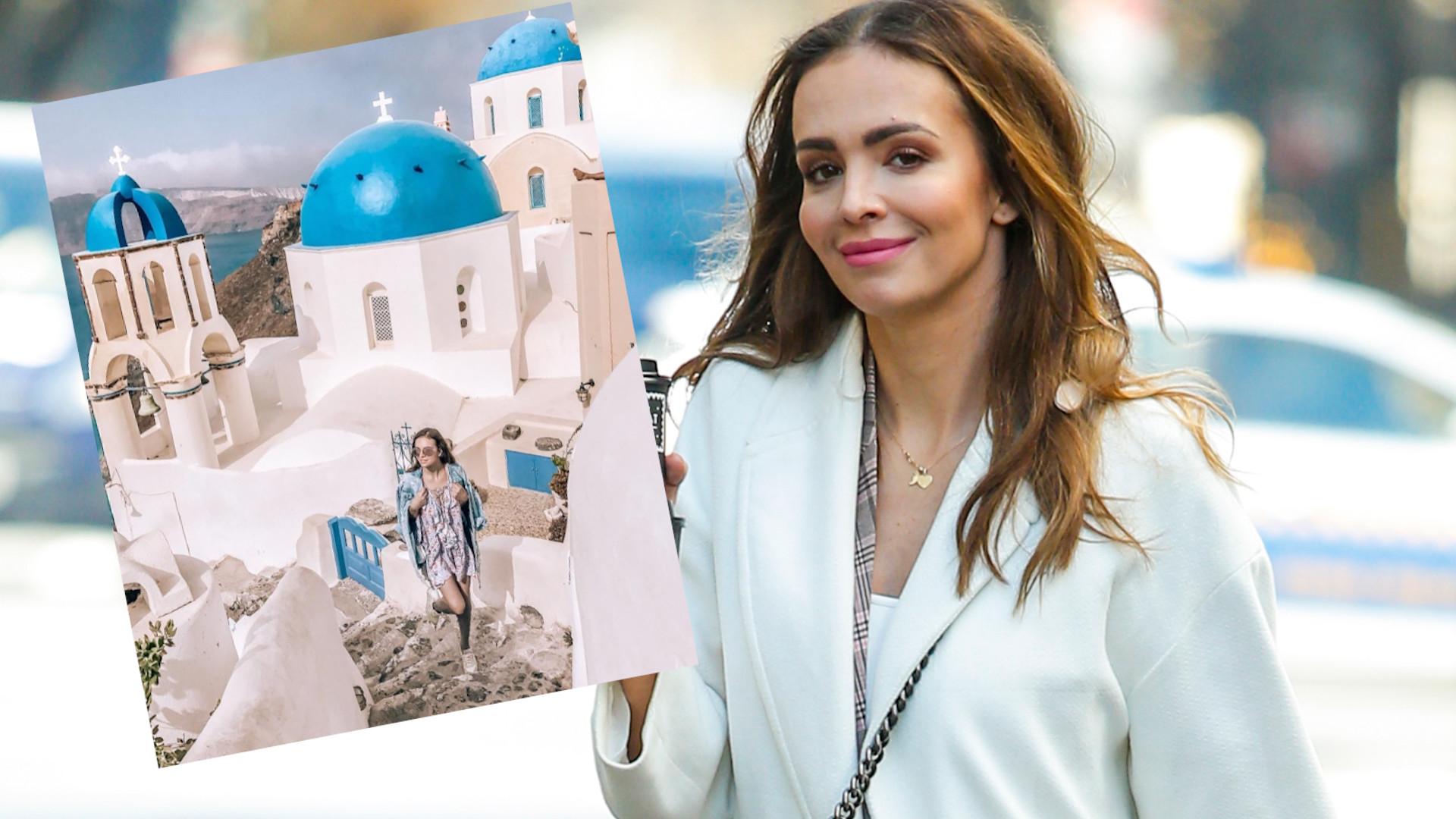 Anna Wendzikowska ma sentyment do Grecji. Kojarzy jej się z pierwszym MĘŻEM