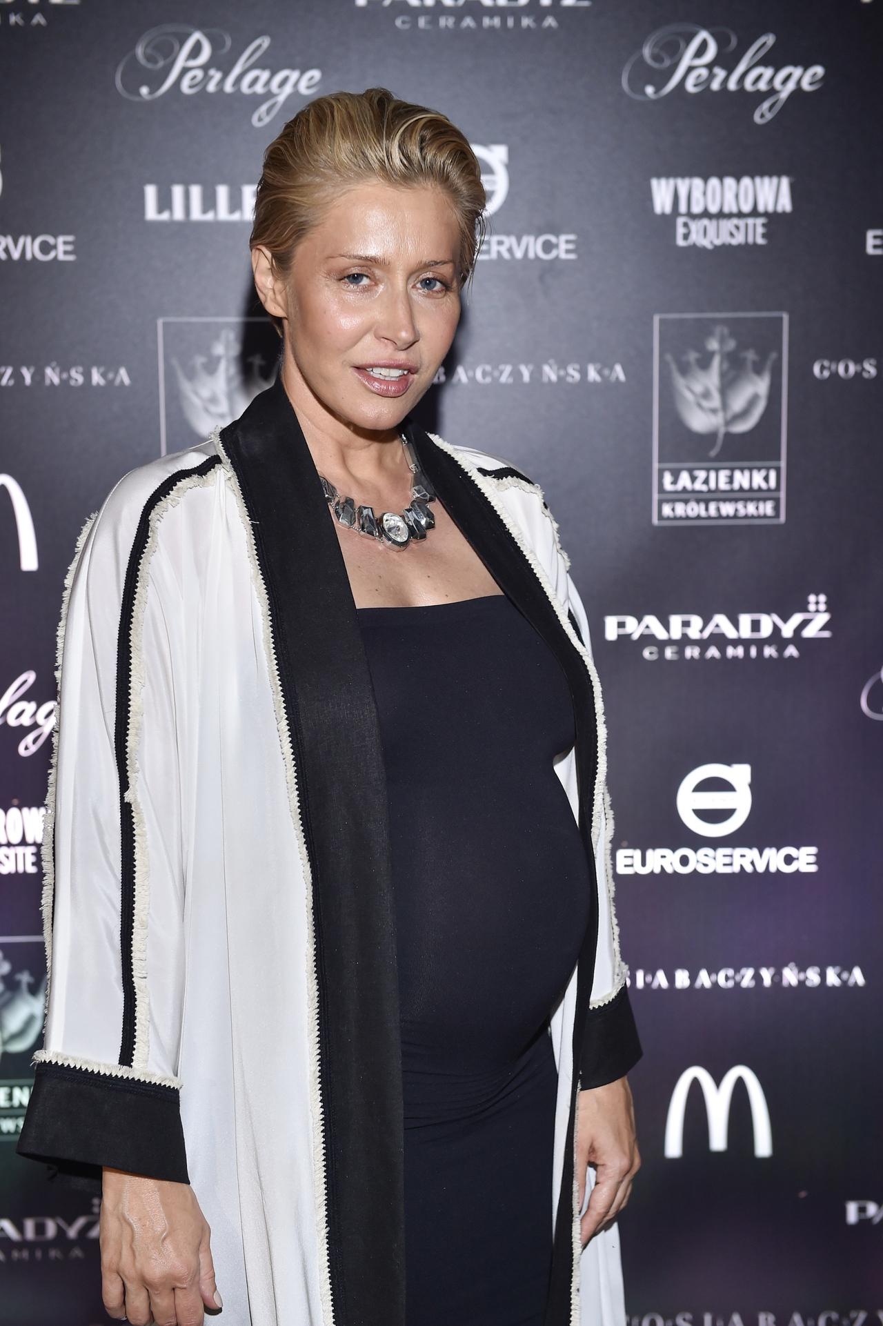 Katarzyna Warnke w ciąży