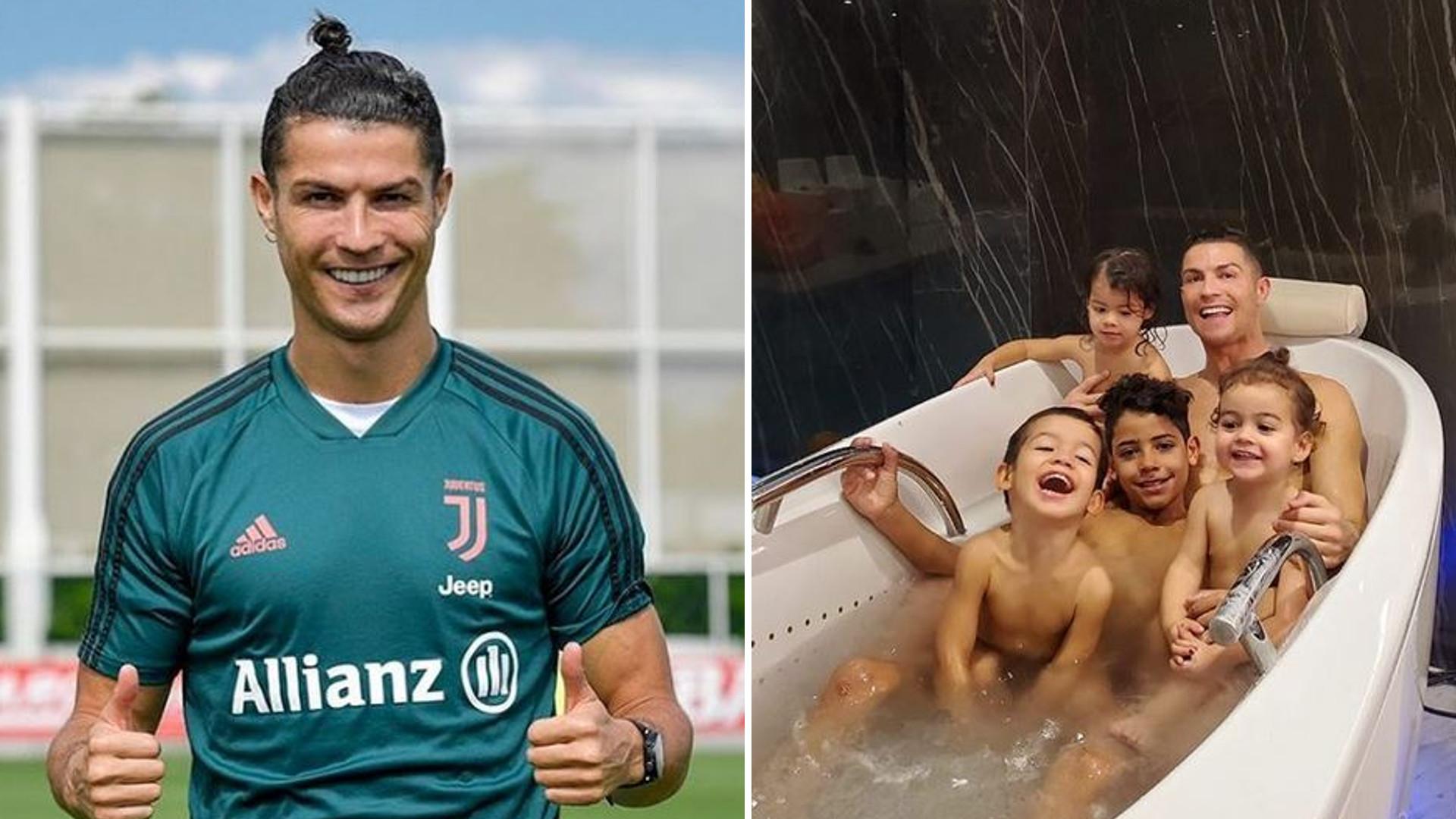 Cristiano Ronaldo pokazał zdjęcie z imprezy urodzinowej bliźniaków Evy i Mateo. Wszyscy się PRZEBRALI!