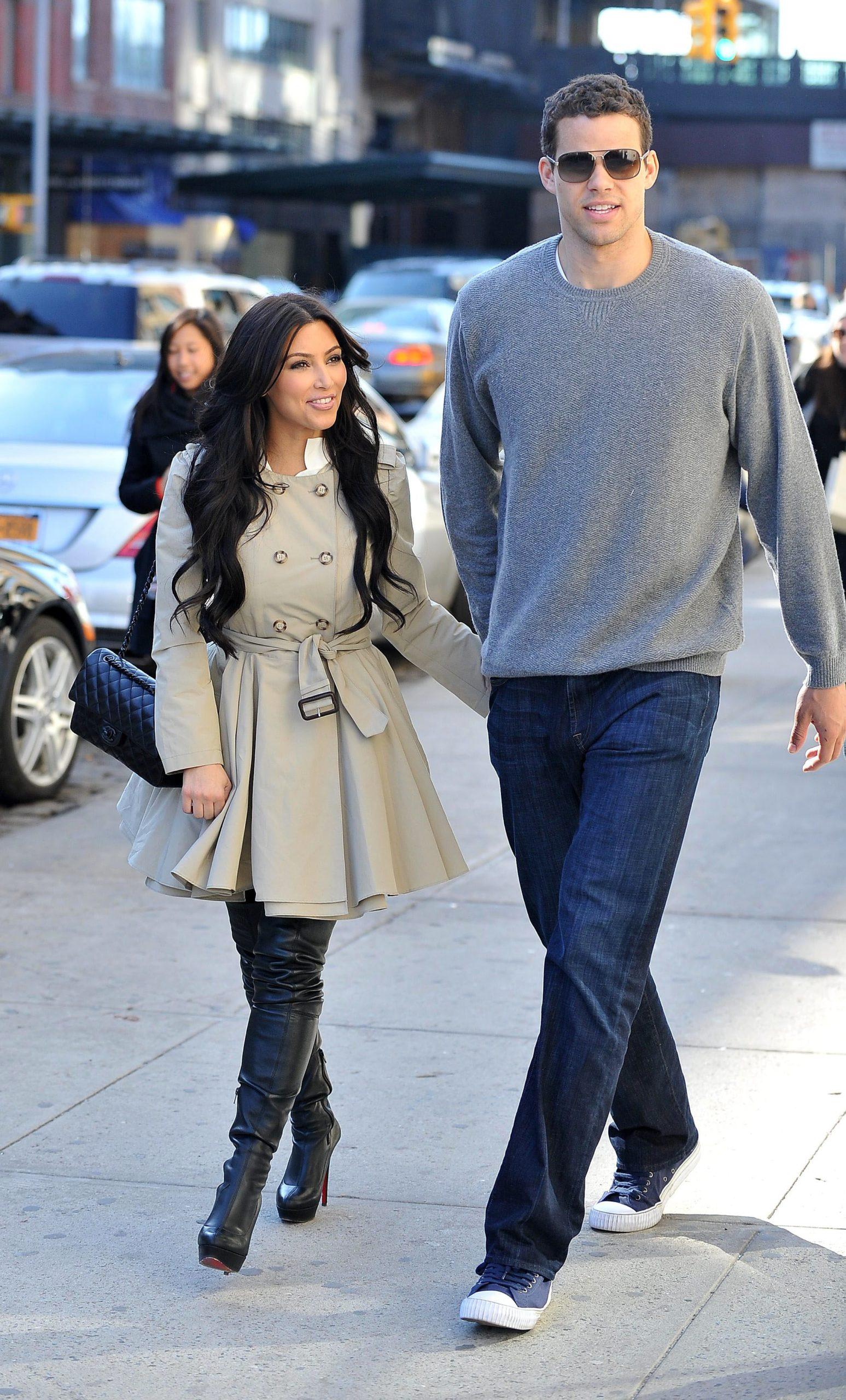 Kim Kardashian z byłym mężem, Krisem Humphries.