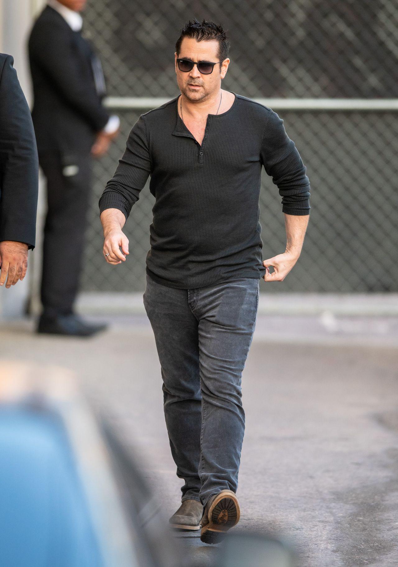 Colin Farrell w styczniu 2020