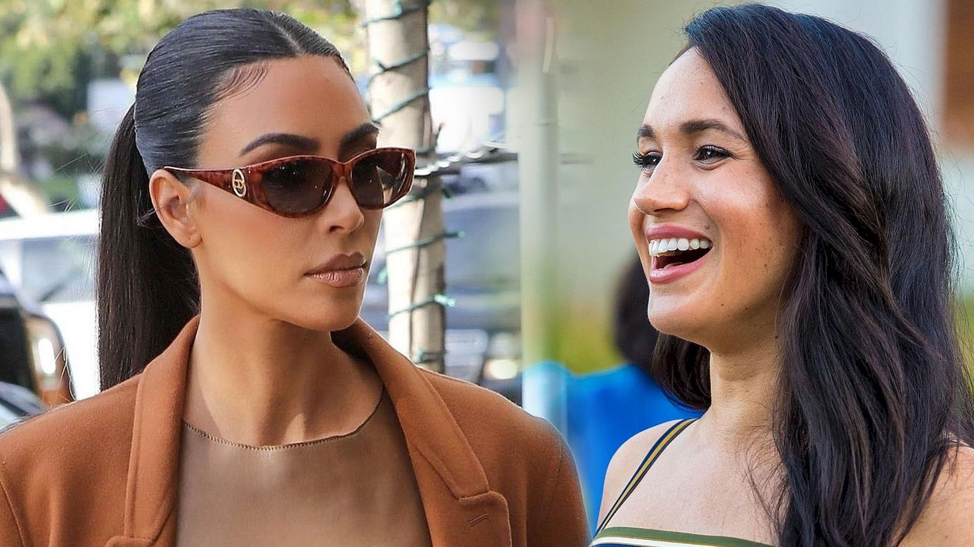Kim Kardashian próbuje zaprzyjaźnić się z Meghan Markle. Zobaczcie, co zrobiła