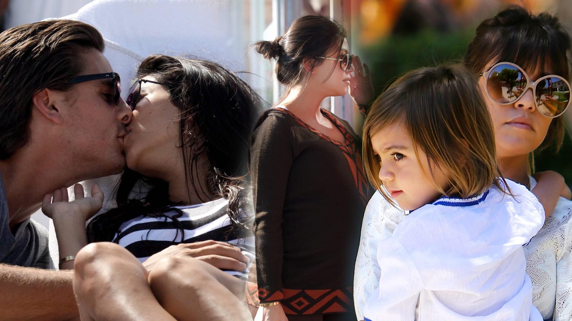 Kourtney Kardashian 10 lat temu, gdy była w ciąży. Trochę się zmieniła, ale spójrzcie na Scotta! (ZDJĘCIA)