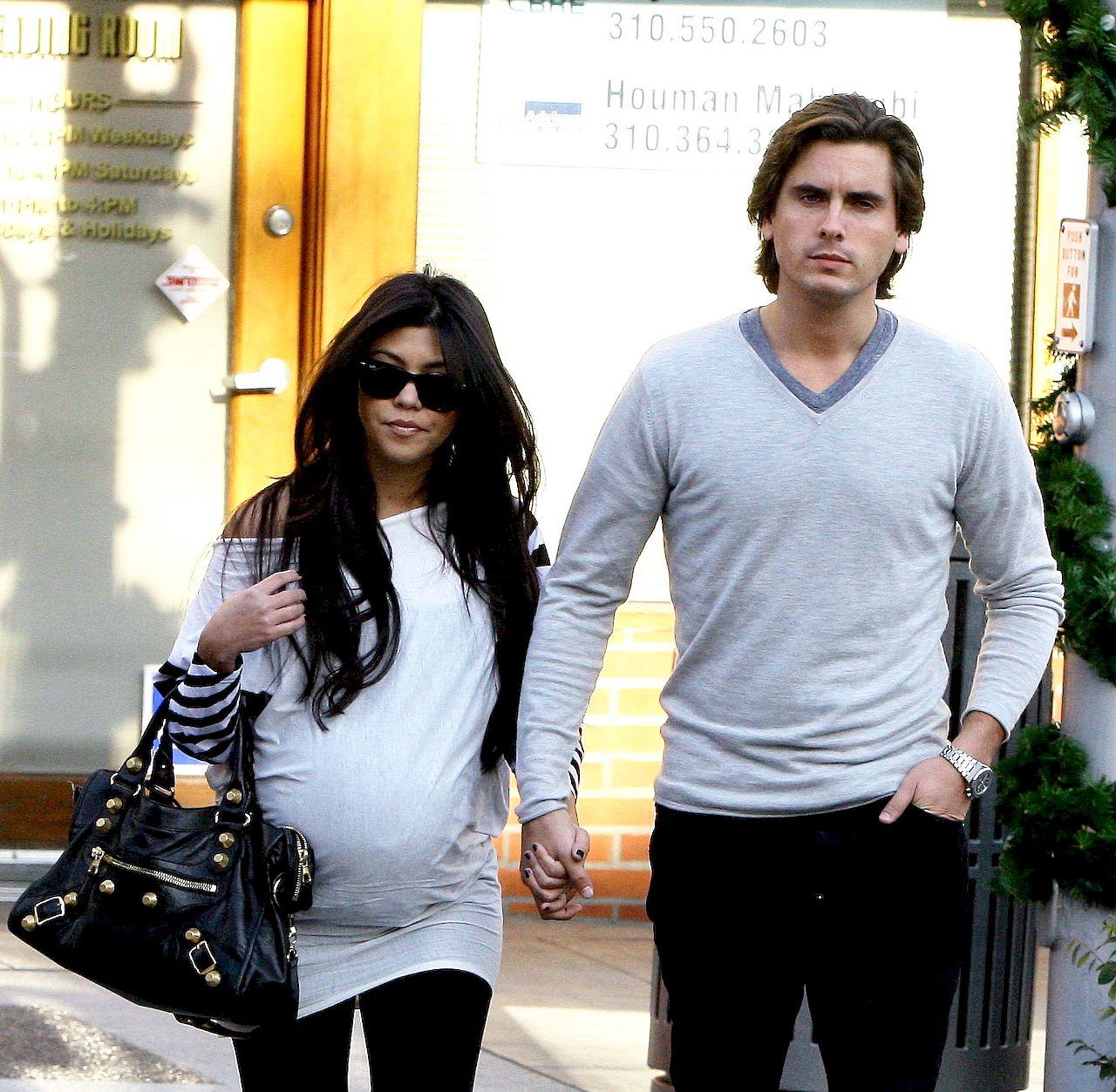 Kourtney Kardashian i Scott Disick