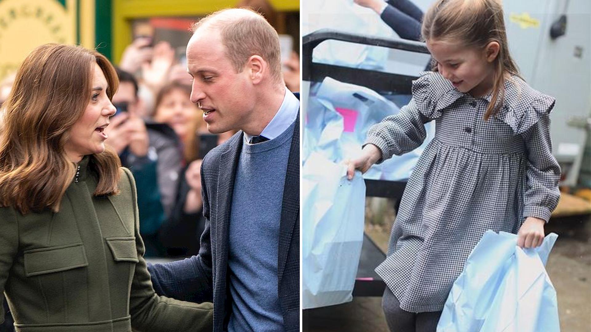 Księżna Kate i książę William oskarżani o narażenie zdrowia księżniczki Charlotte