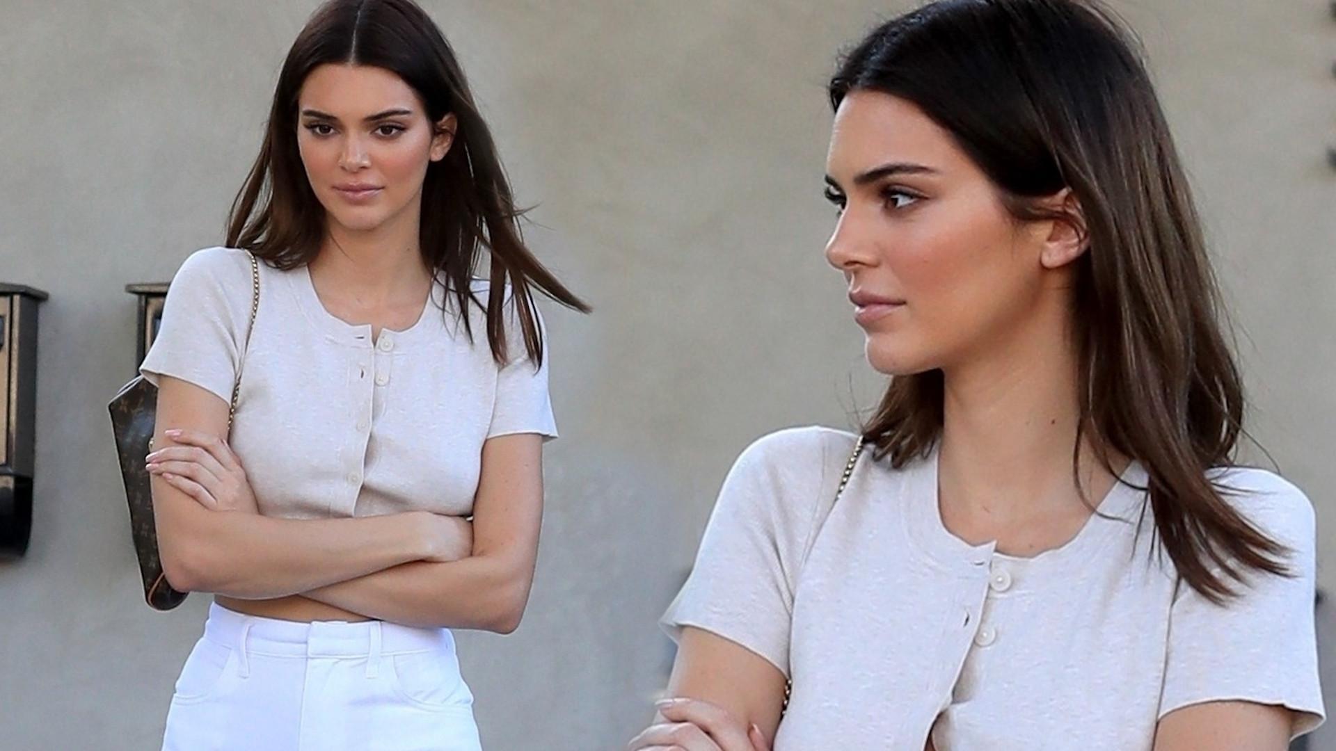 Kendall Jenner UDAJE, że była na proteście? Cień na zdjęciu budzi wątpliwości