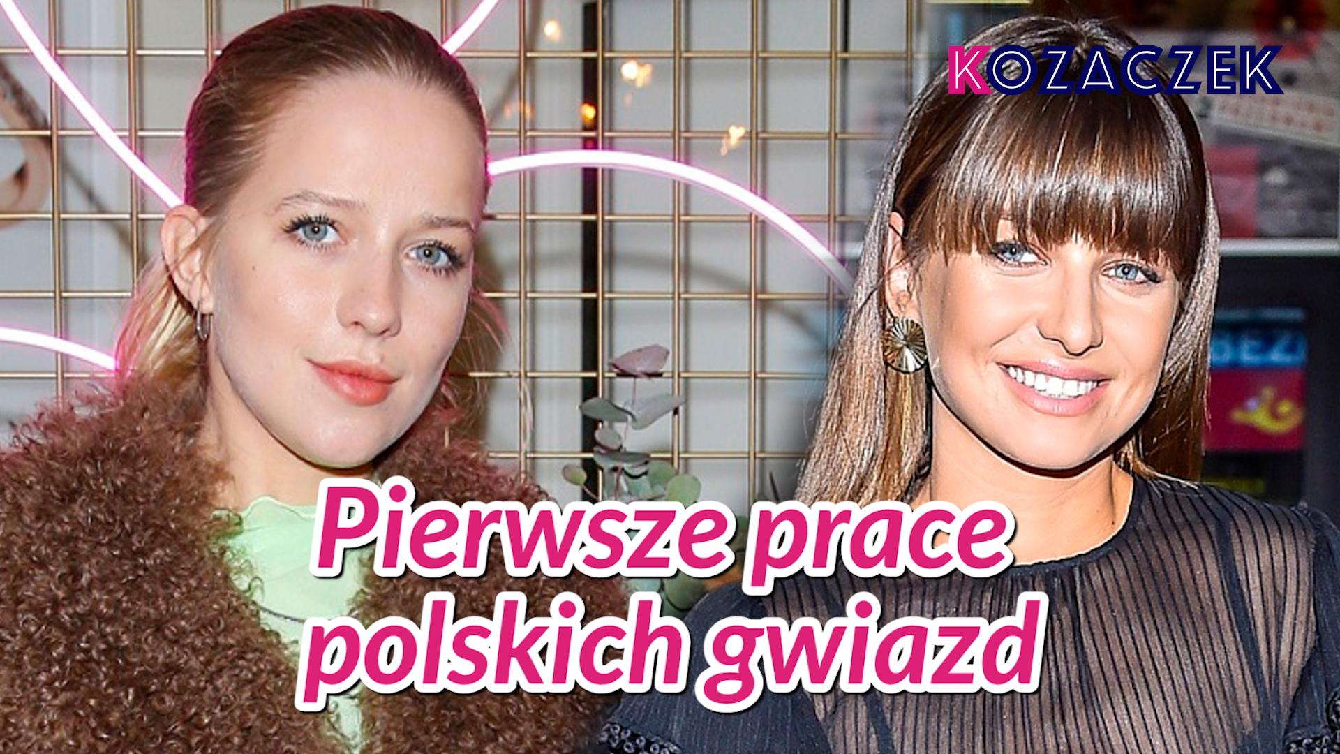 Pierwsze prace POLSKICH gwiazd – co robiła Anna Lewandowska, a kto pakował cebulę?
