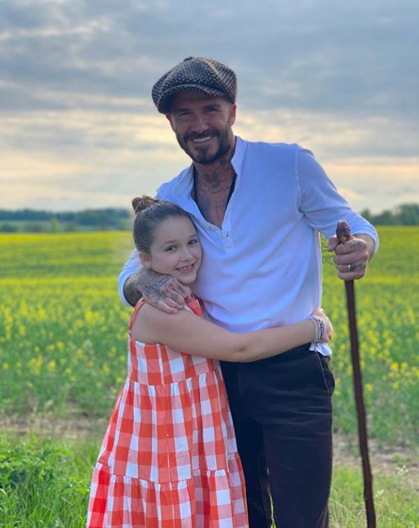 David i Victoria Beckham. Fot. Instagram screen