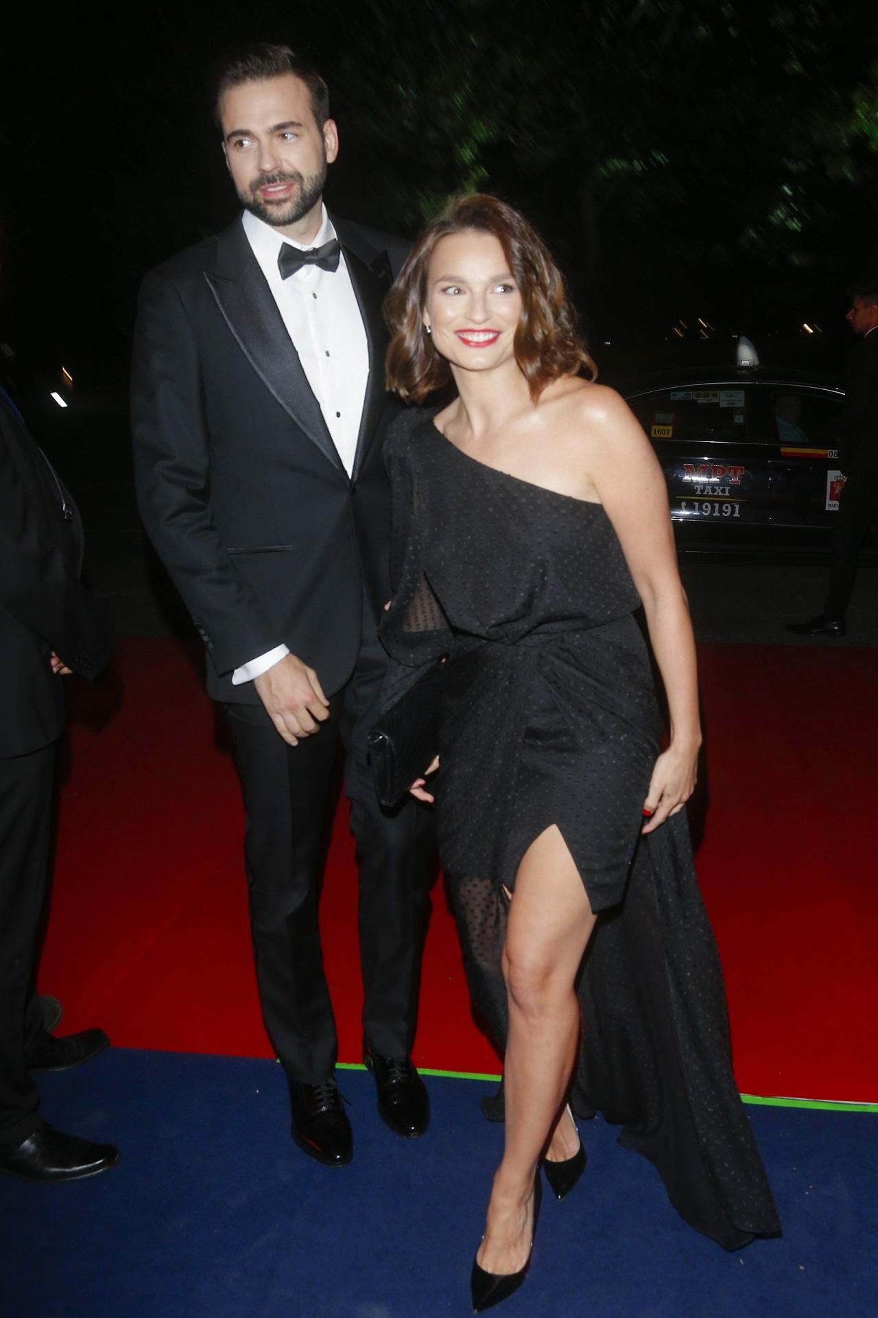 Anna Starmach z mężem.
