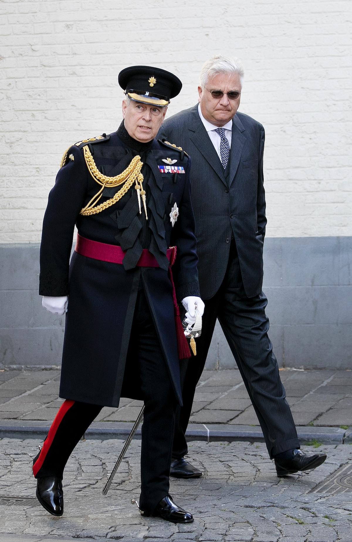 Książę Andrzej pełni królewskiej obowiązki.