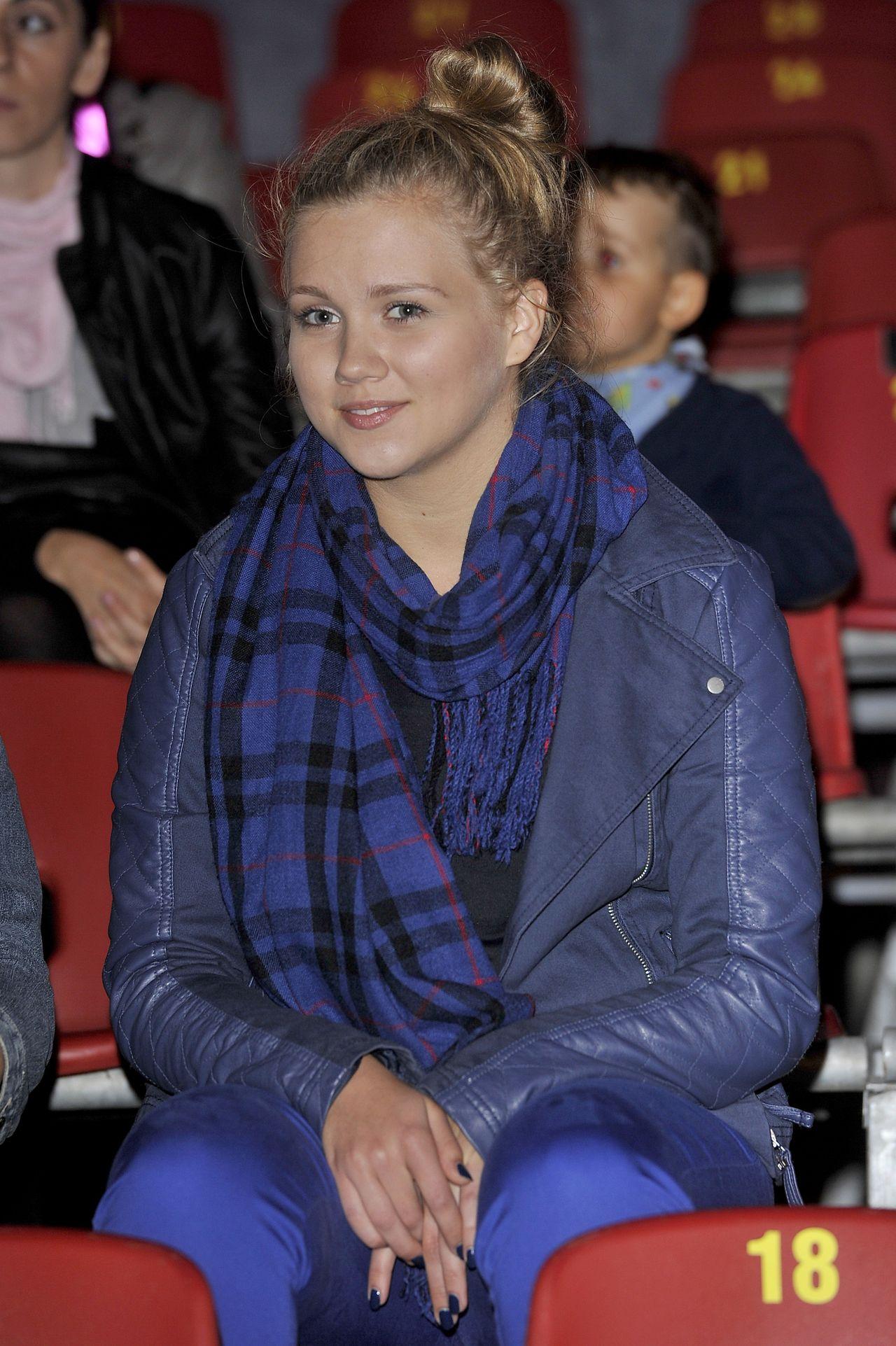 Agnieszka Kaczorowska w 2013 roku