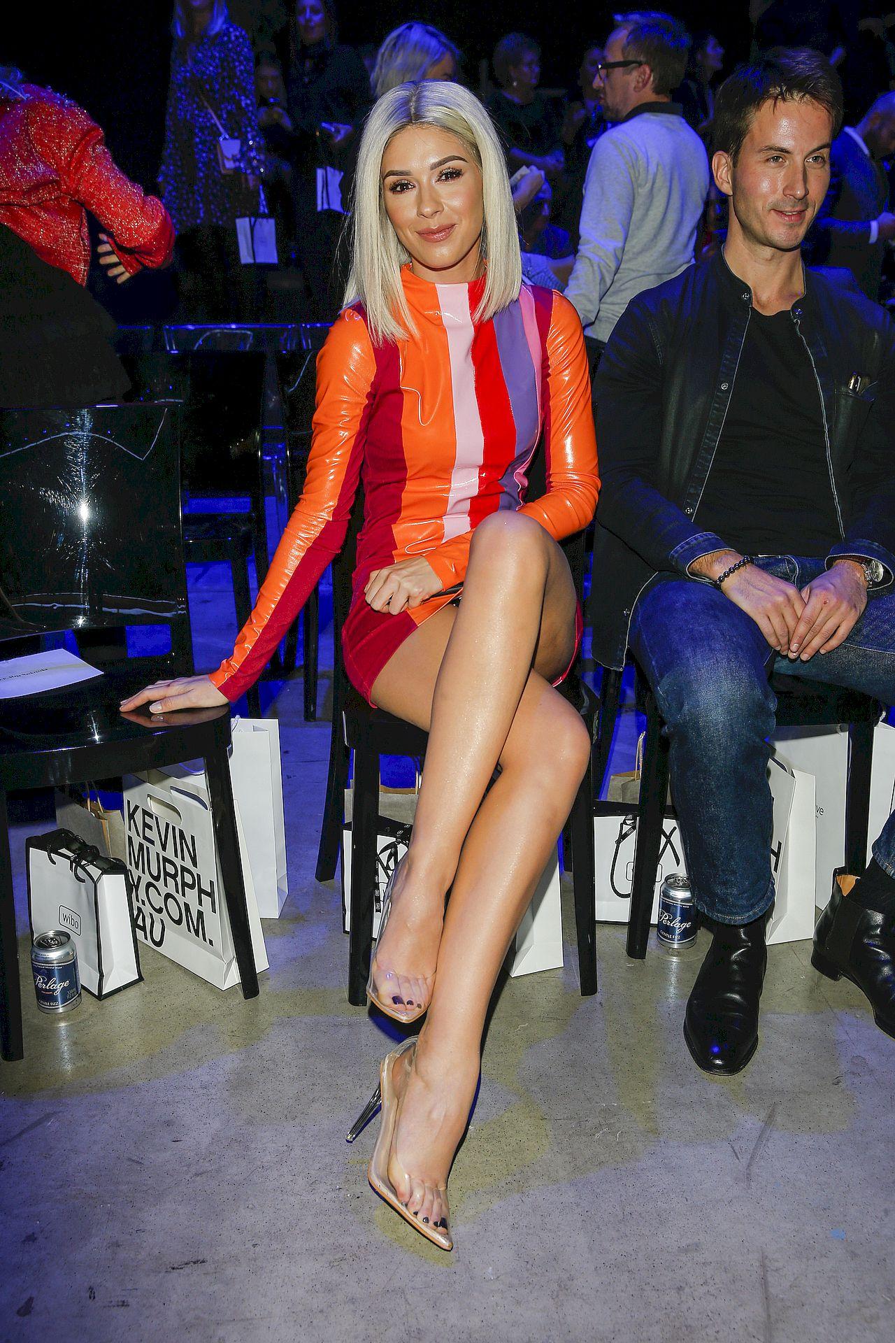 Klaudia Halejcio w blondzie