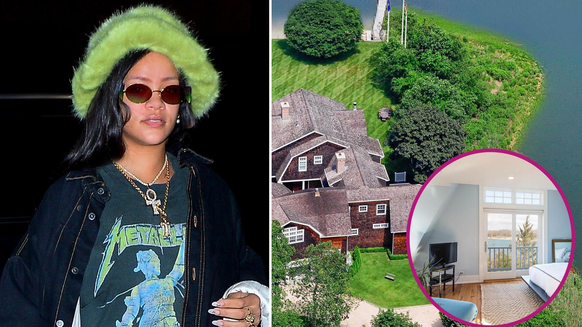 Rihanna wynajęła ten dom na wakacje – wcześniej mieszkały w nim Kardashianki (ZDJĘCIA)
