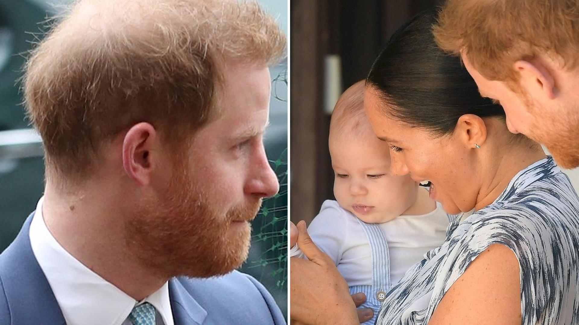 Książę Harry napisał list, w którym wyraził pragnienie lepszej przyszłości dla swojego syna