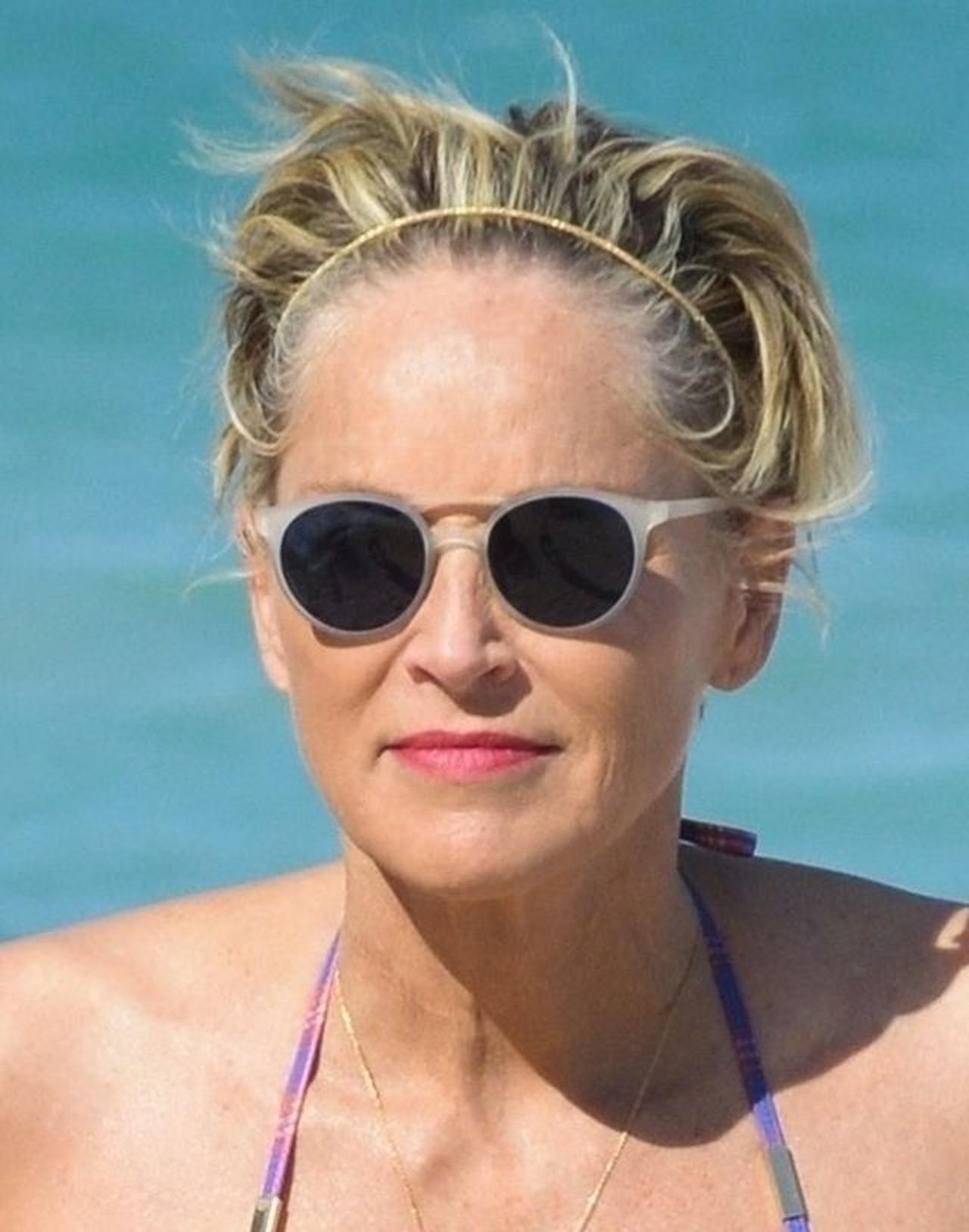 Sharon Stone zachwyca wyglądem.