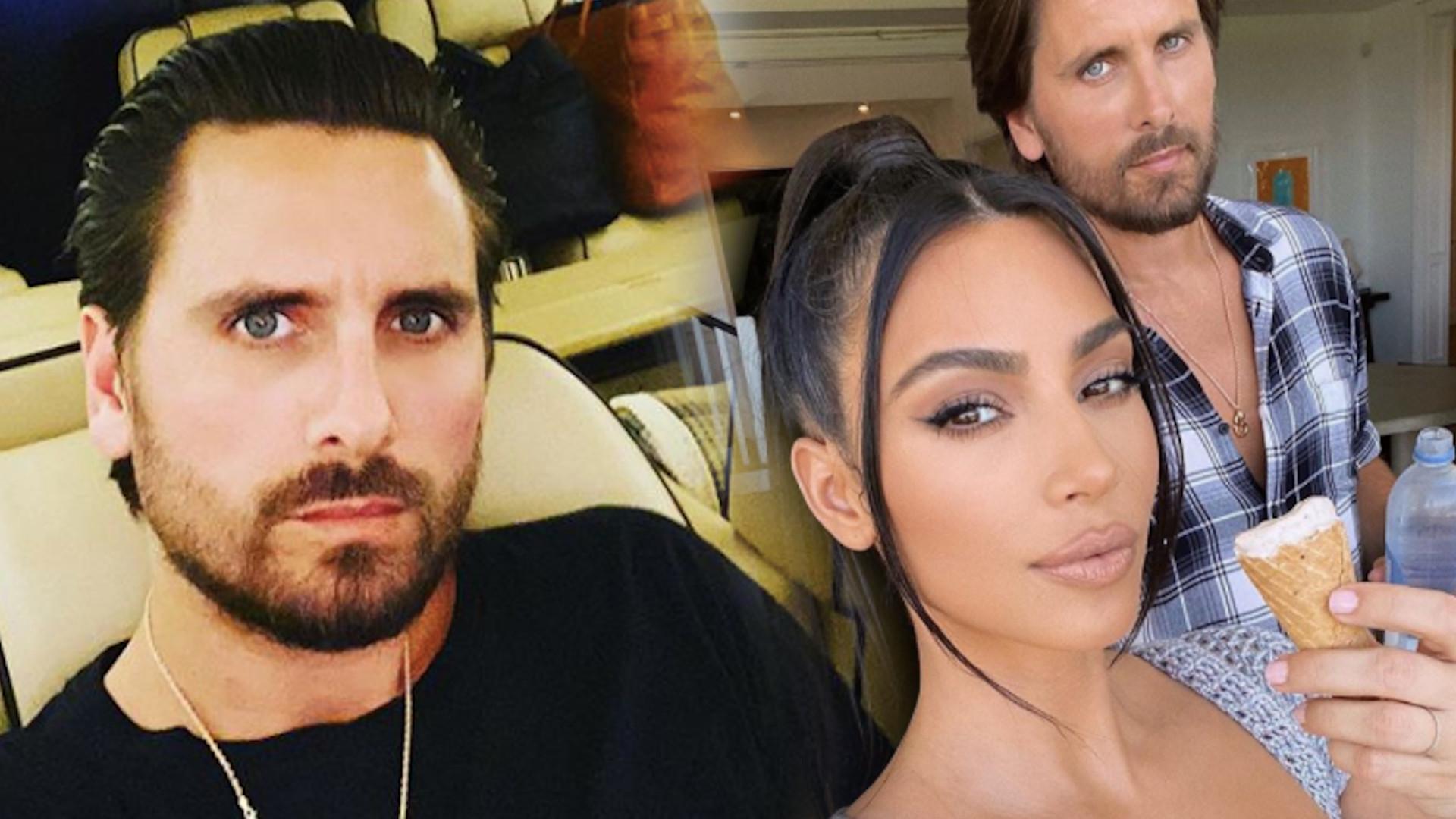 Kim Kardashian dopiero teraz pokazała zdjęcia z urodzin Scotta Disicka