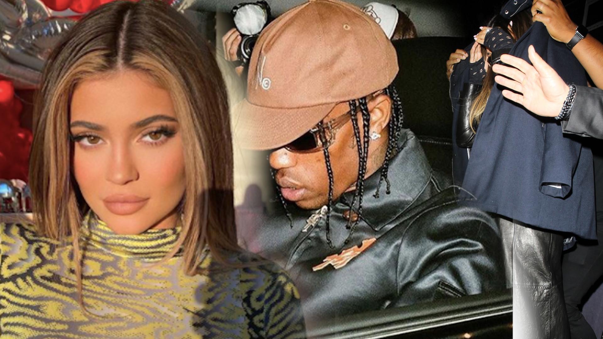 Kylie Jenner i Travis Scott razem w KLUBIE (ZDJĘCIA)