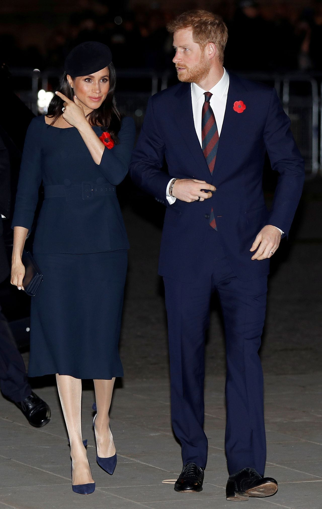 Meghan Markle i Harry na królewskiej uroczystości.