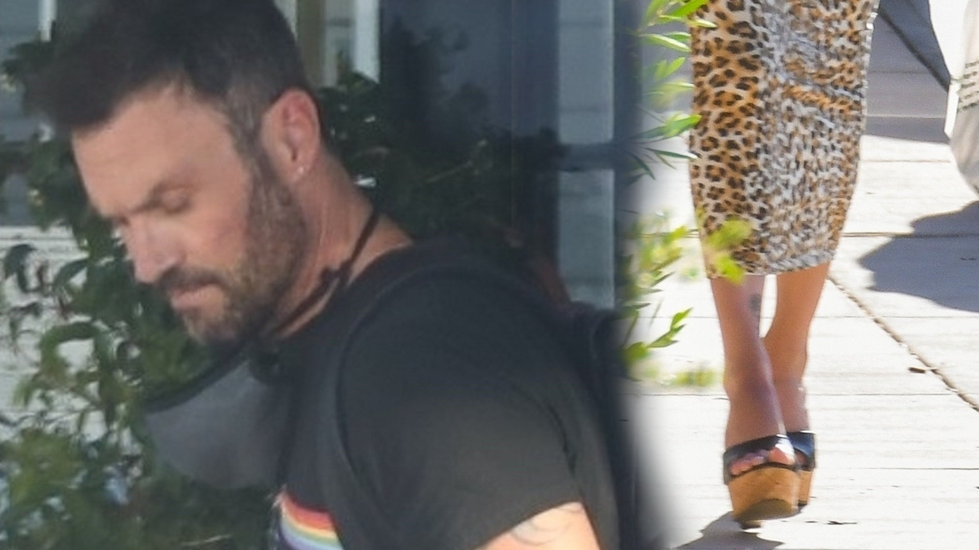Brian Austin Green zastąpił już Megan Fox? Przyłapany z celebrytką (ZDJĘCIA)