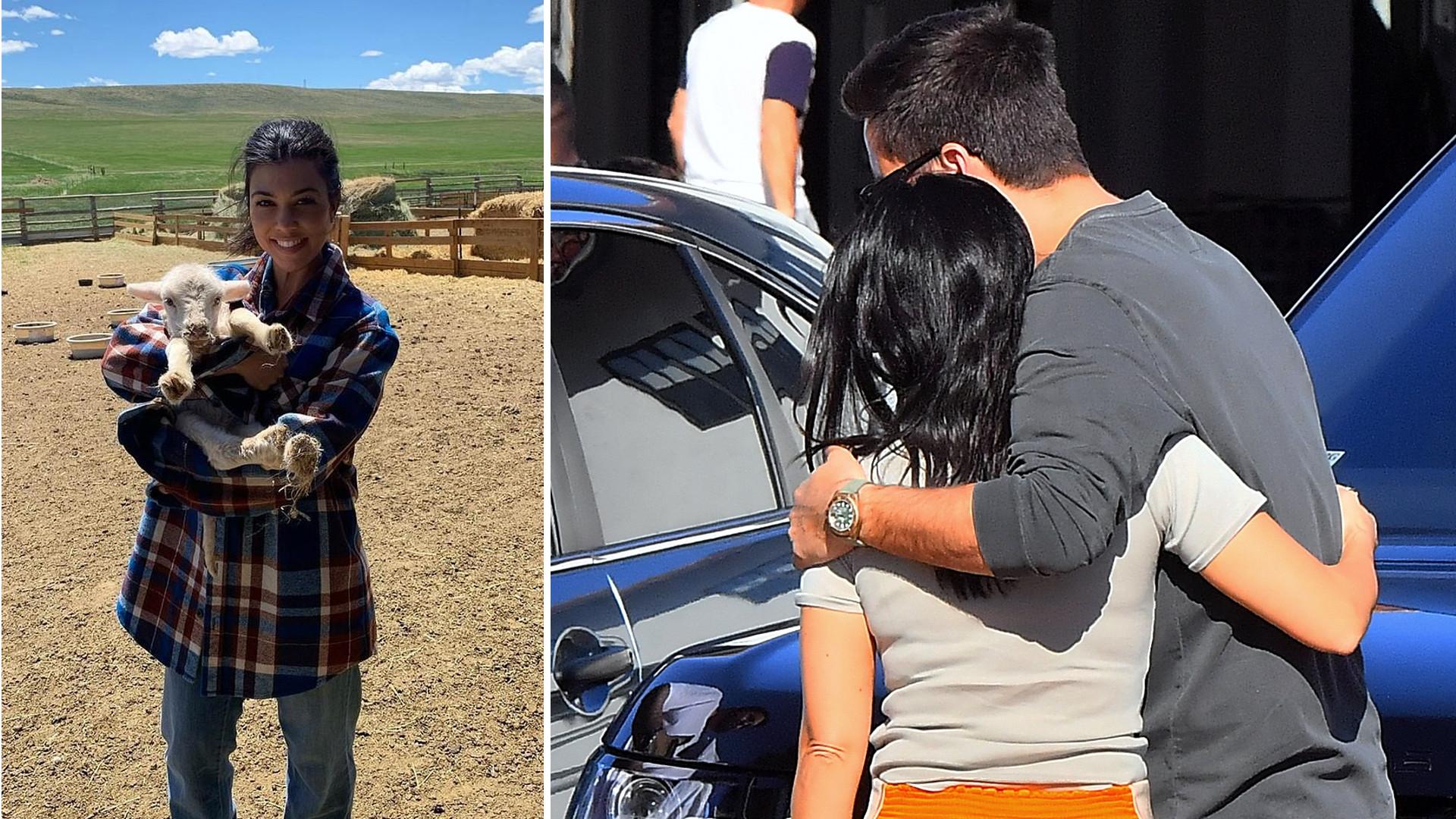 FLANELOWA koszula Kourtney Kardashian ma być dowodem na to, że celebrytka znów jest BLISKO ze Scottem Disickiem