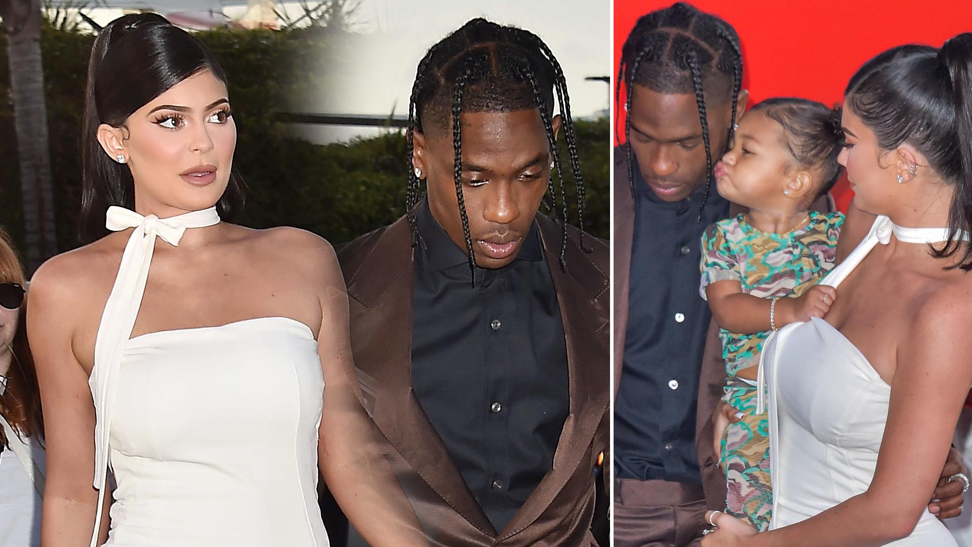Kylie Jenner imprezuje ze Scottem Travisem, ale NIC z tego nie będzie