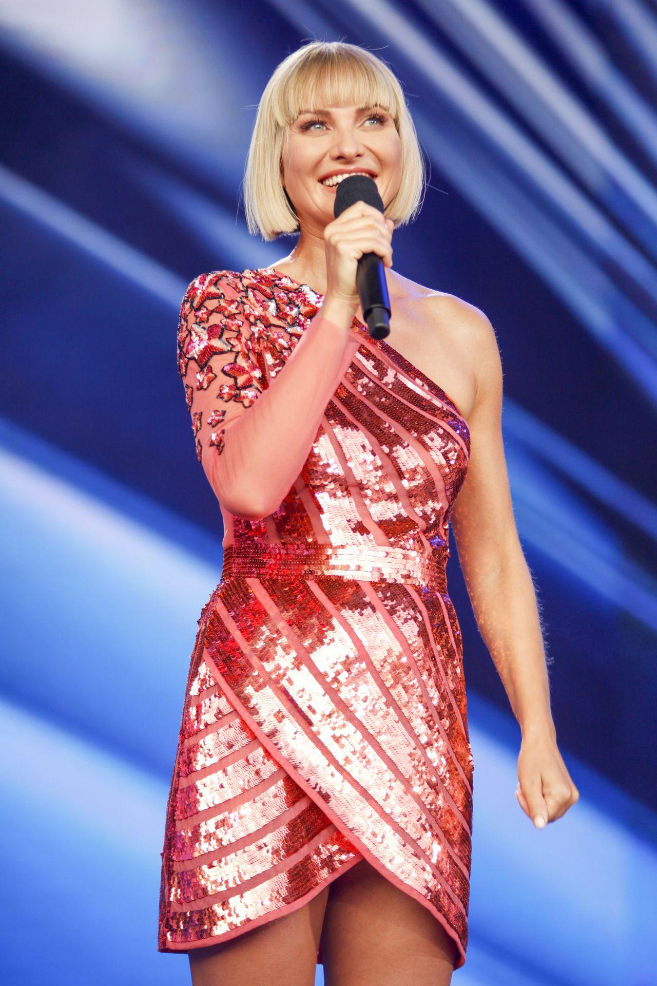 Joanna Moro na scenie