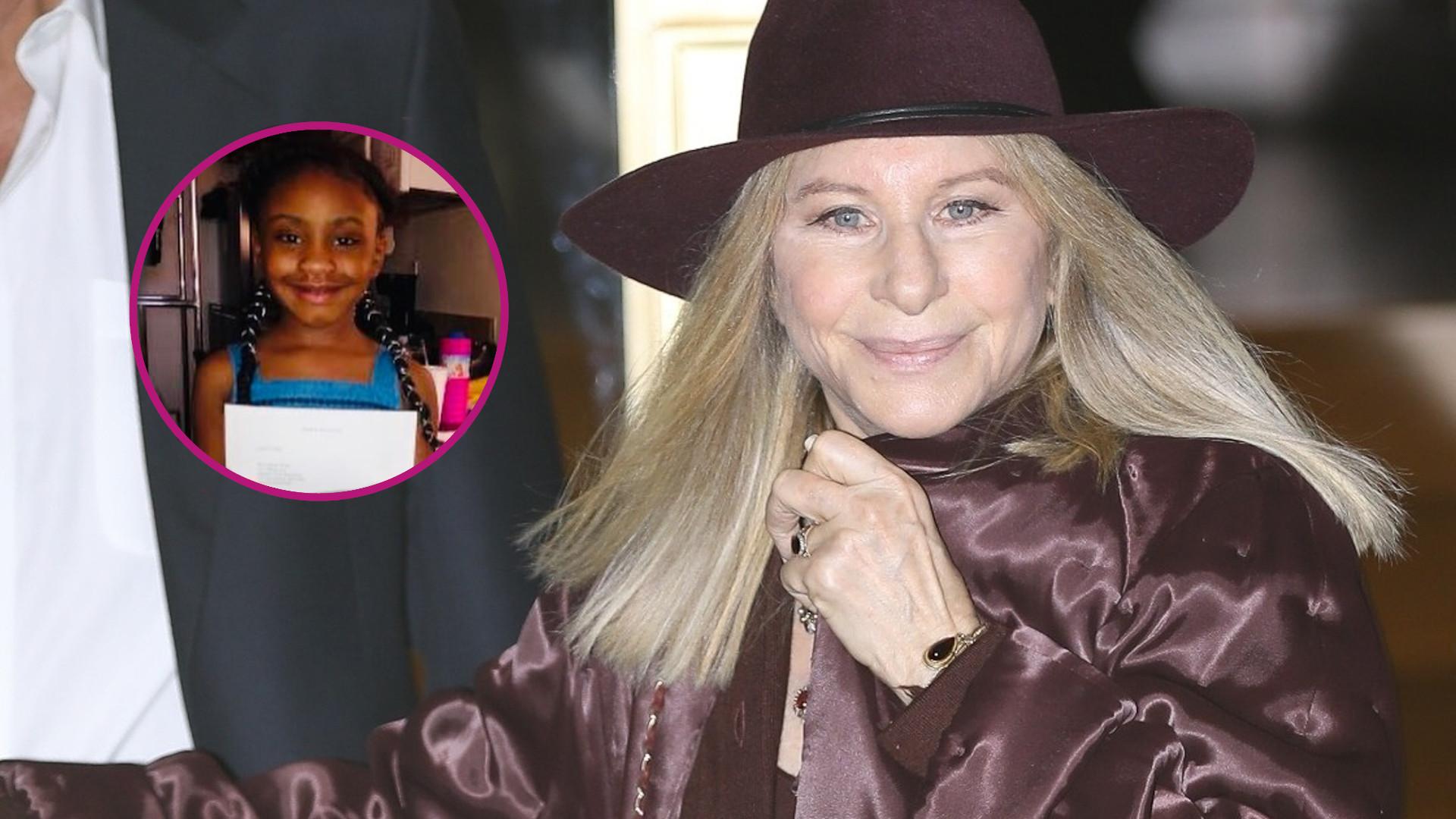 Córka George'a Floyda dostała NIEZWYKŁY prezent od Barbry Streisand