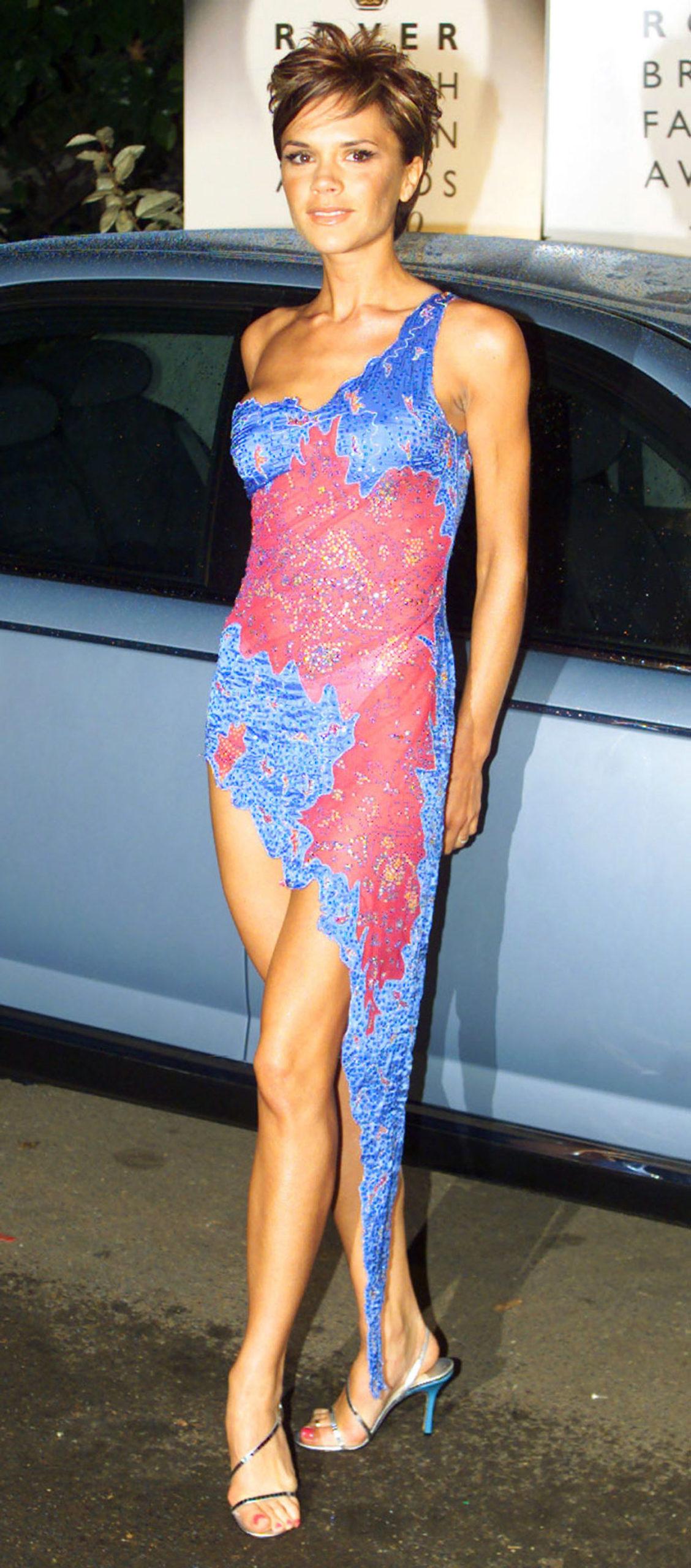 Victoria Beckham na początku kariery.