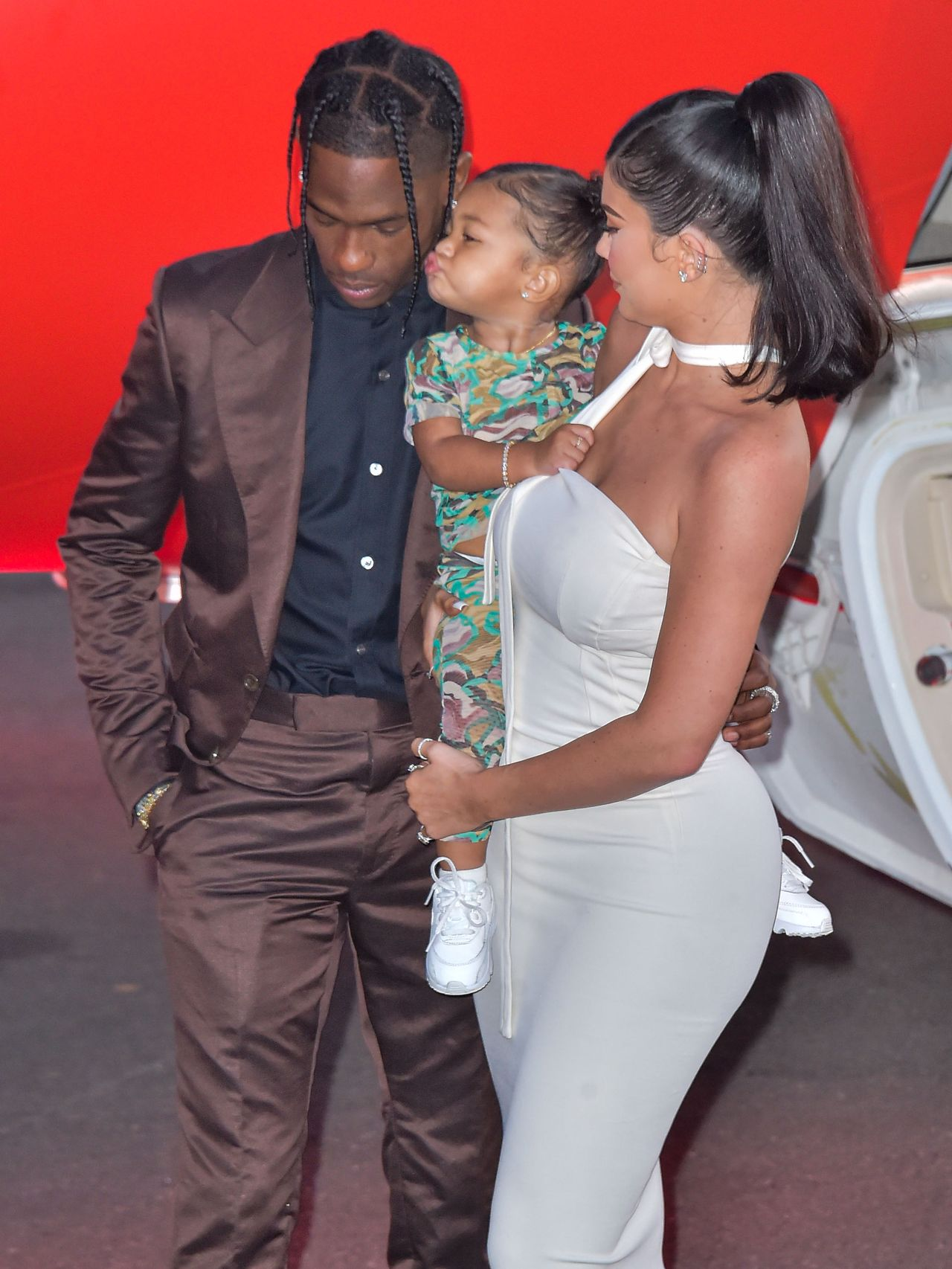 Kylie Jenner, Travis Scott i ich córka, Stormi Webster