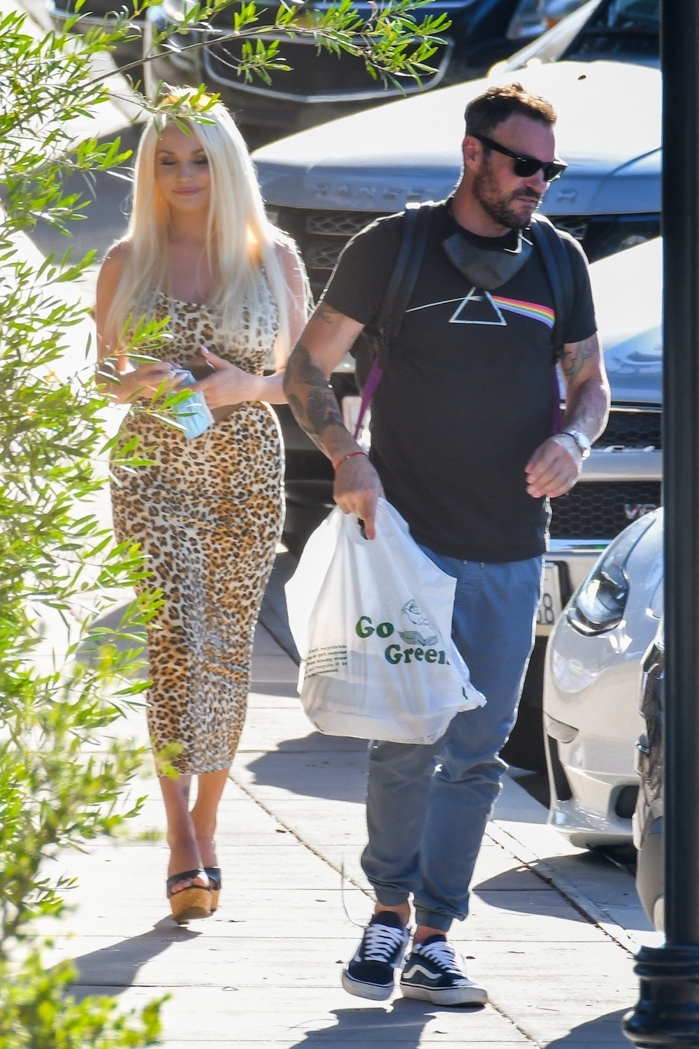 Brian Austin Green i Courtney Stodden. Fot. BACKGRID / Backgrid USA / Forum
