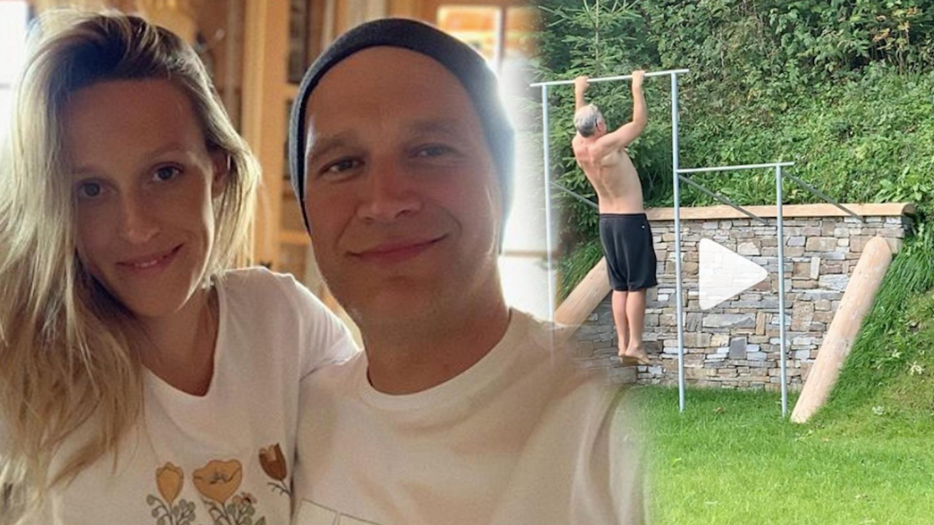 Aleksandra Żebrowska złożyła życzenia mężowi i pokazała PRZEZABAWNE nagranie