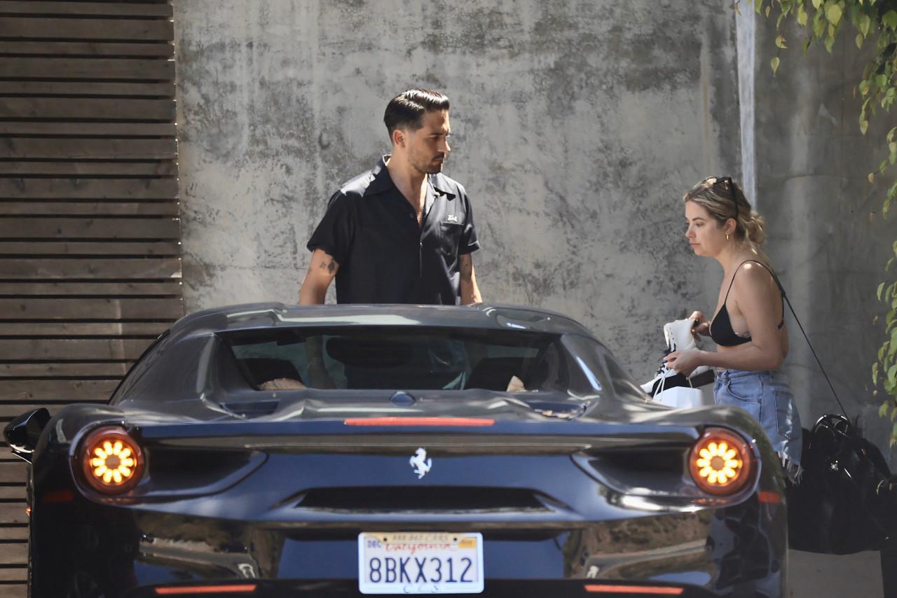 Ashley Benson i G-Eazy jadą na wspólną przejażdżkę Ferrari
