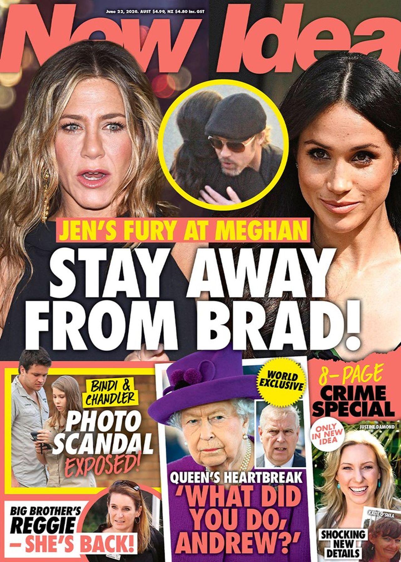 Meghan Markle chce skontaktować się z Bradem Pittem