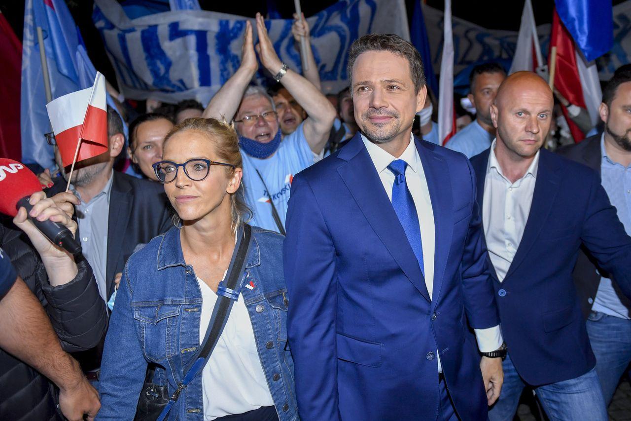 Szczupły i dobrze ubrany - tak wygląda Rafał Trzaskowski dziś
