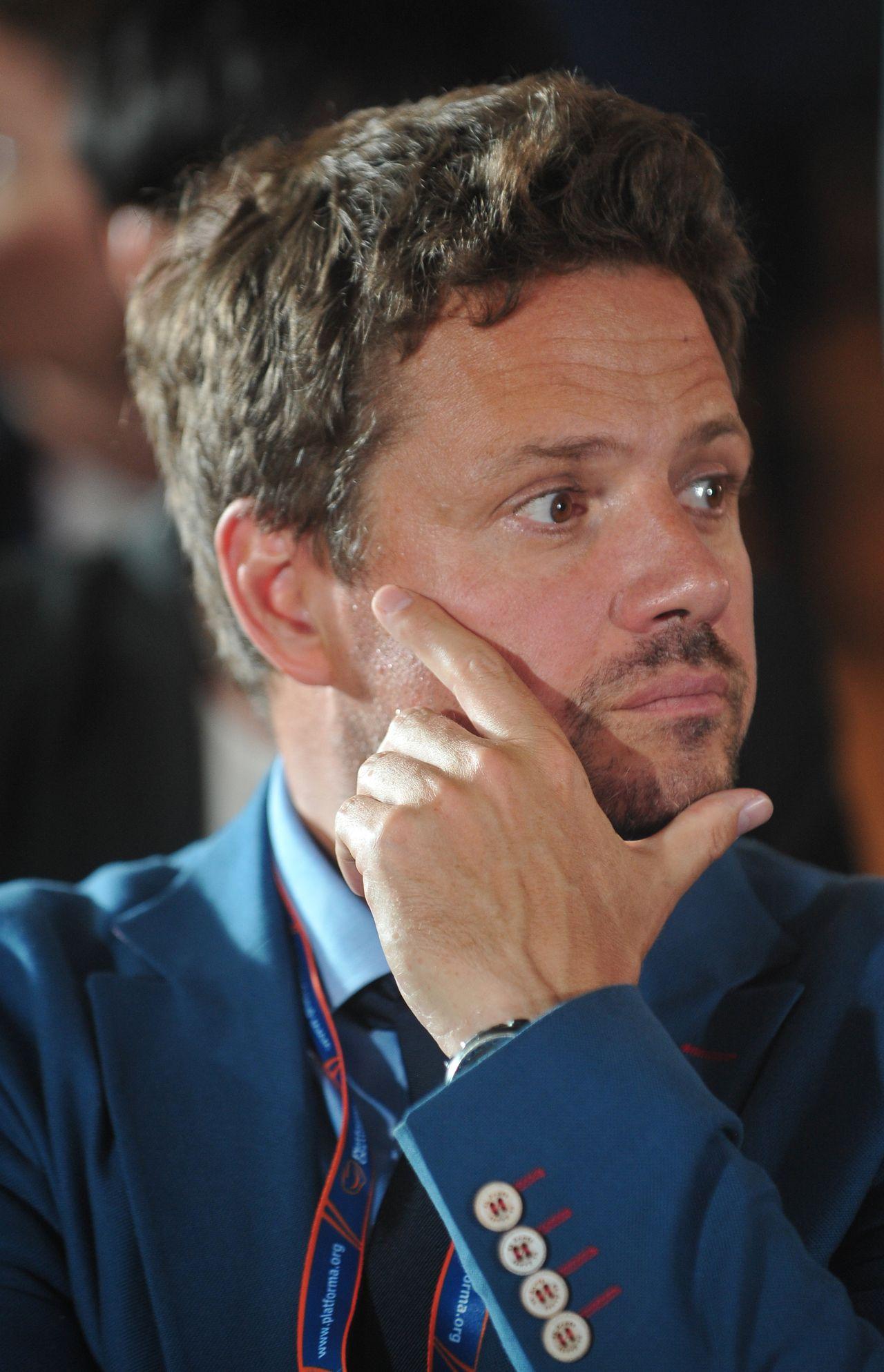 Rafał Trzaskowski w 2015 roku