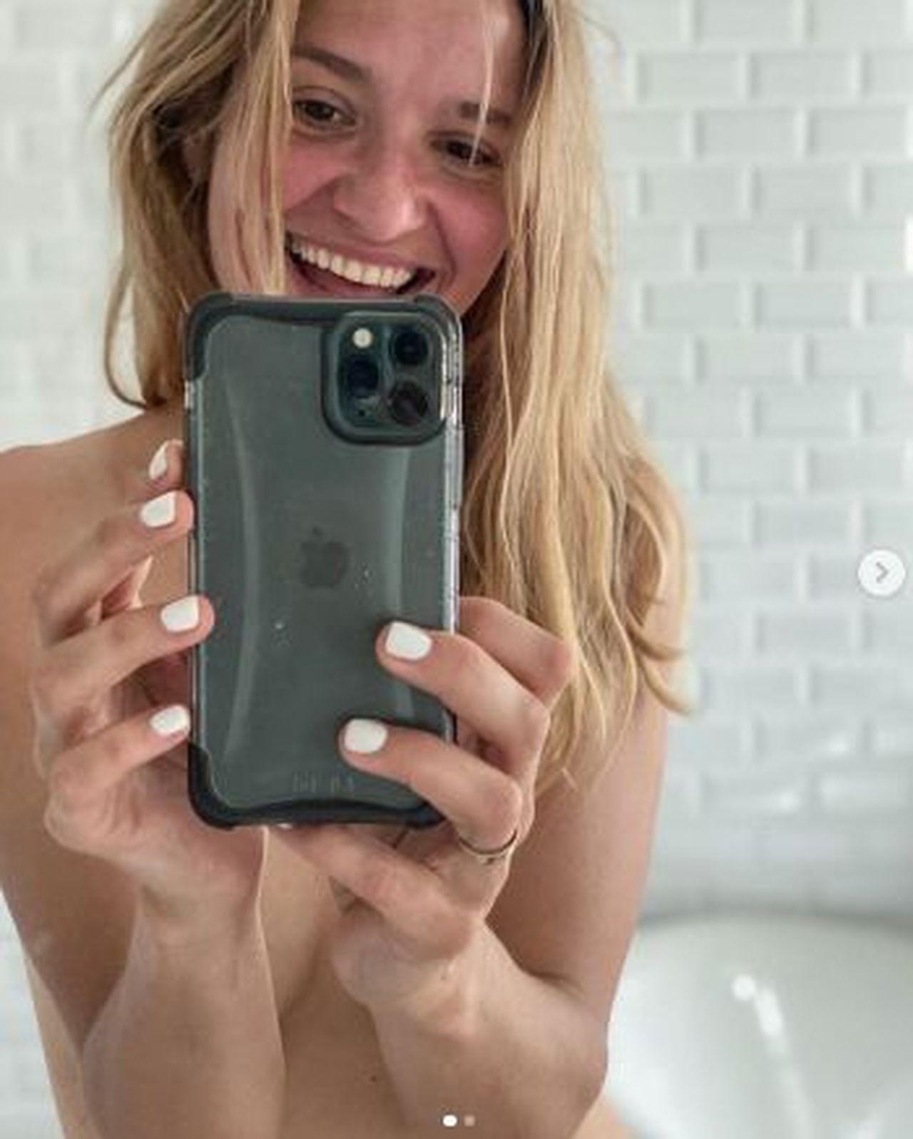 Joanna Koroniewska zrobiła sobie selfie po bieganiu, fot. Instagram Joanny Koroniewskiej