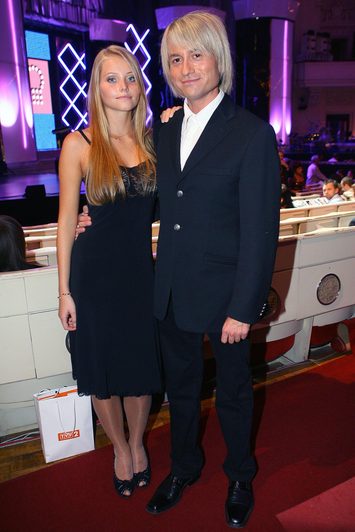 Agata i Piotr Rubik na starym zdjęciu