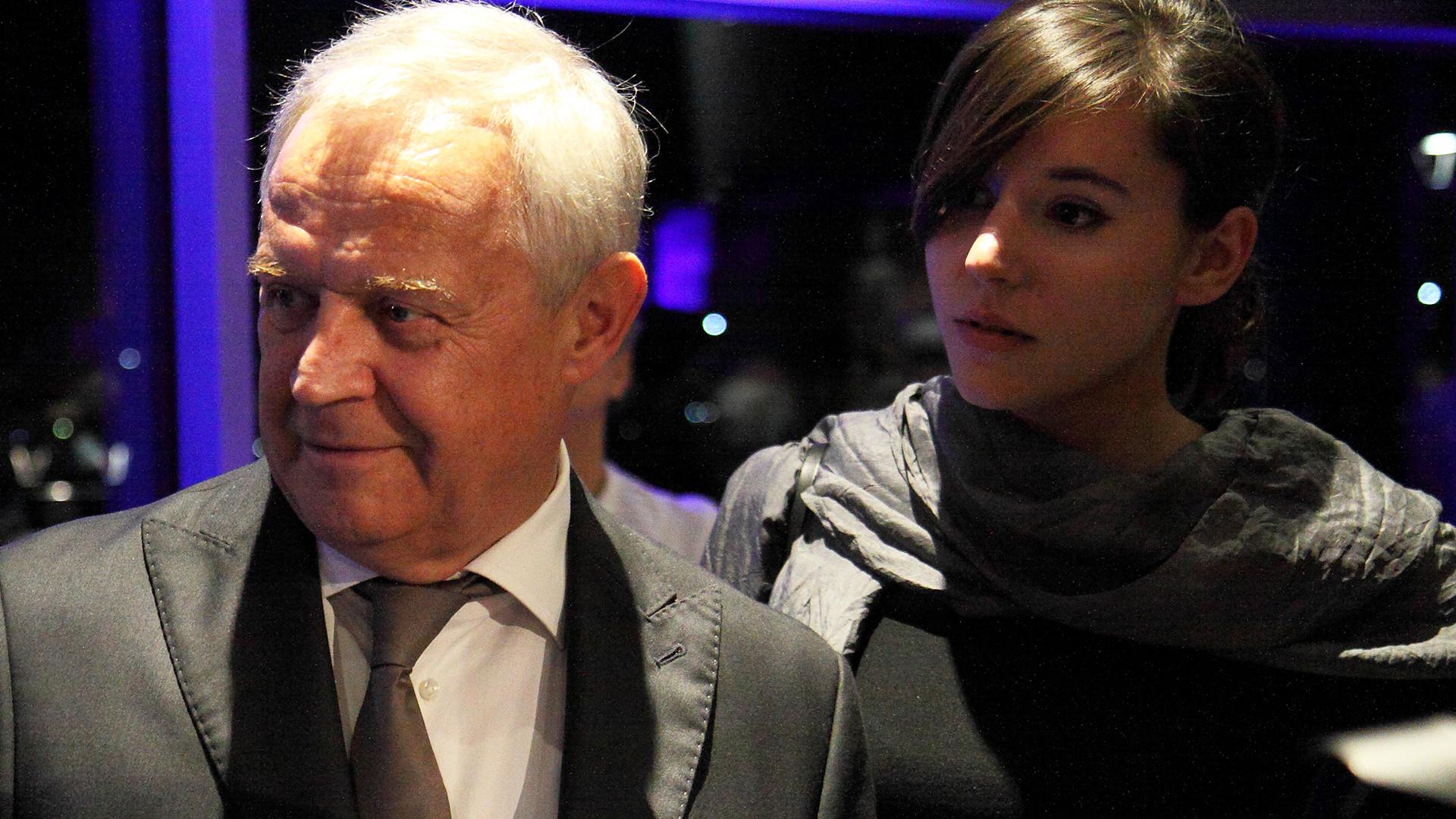 Marek Kondrat pierwszy raz pokazał swoją 2-letnią córkę Helenkę