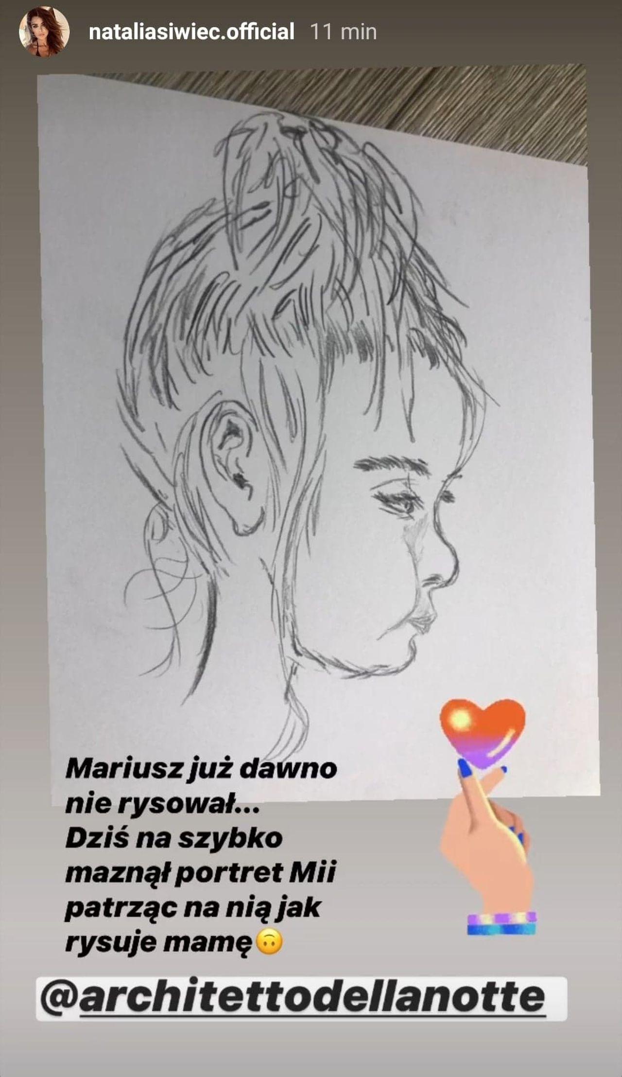 Mariusz Raduszewski namalował córkę