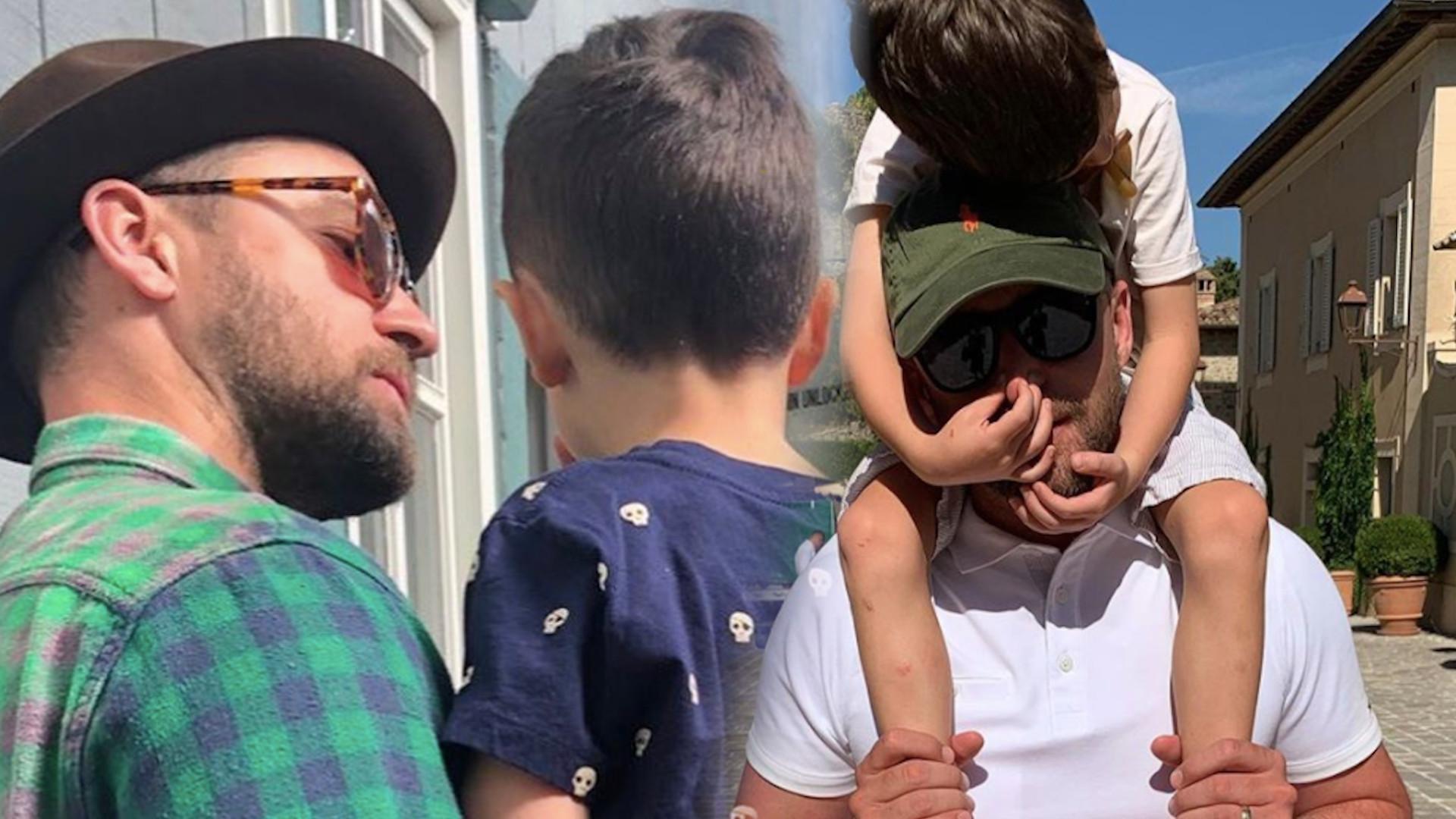 Justin Timberlake mówi o wychowywaniu syna, a Jessica Biel zdradza, jakim ojcem jest aktor