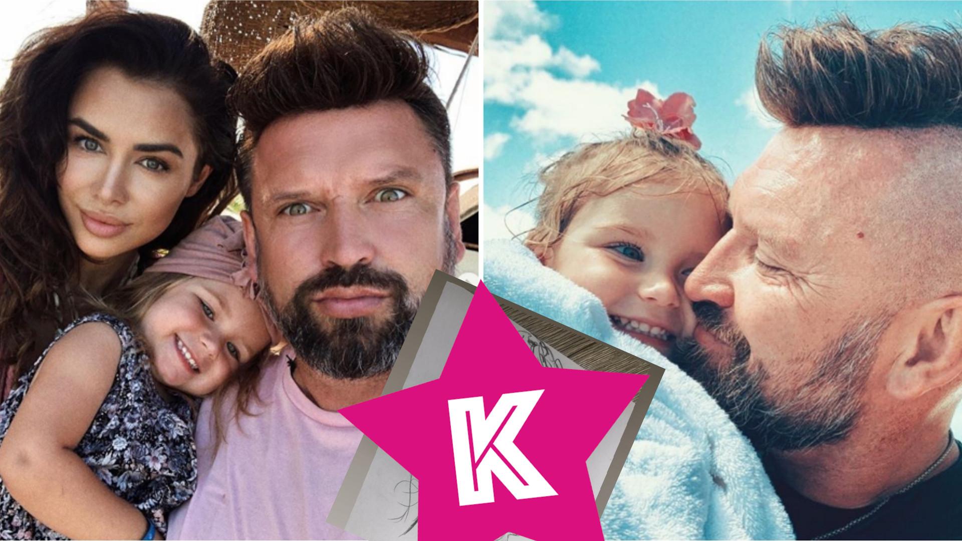 Mąż Natalii Siwiec NAMALOWAŁ ich córkę. Modelka pokazała portret