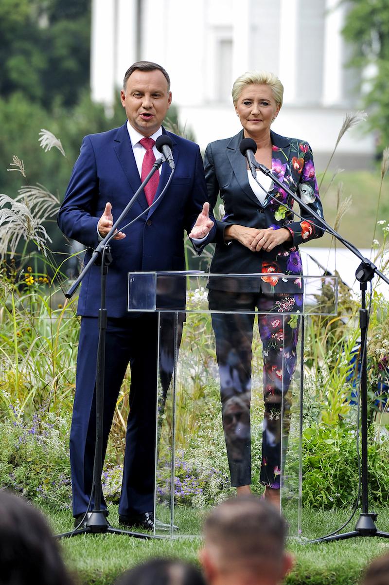 Andrzej Duda, Agata Kornhauser-Duda, SK. Fot. Gałązka/AKPA
