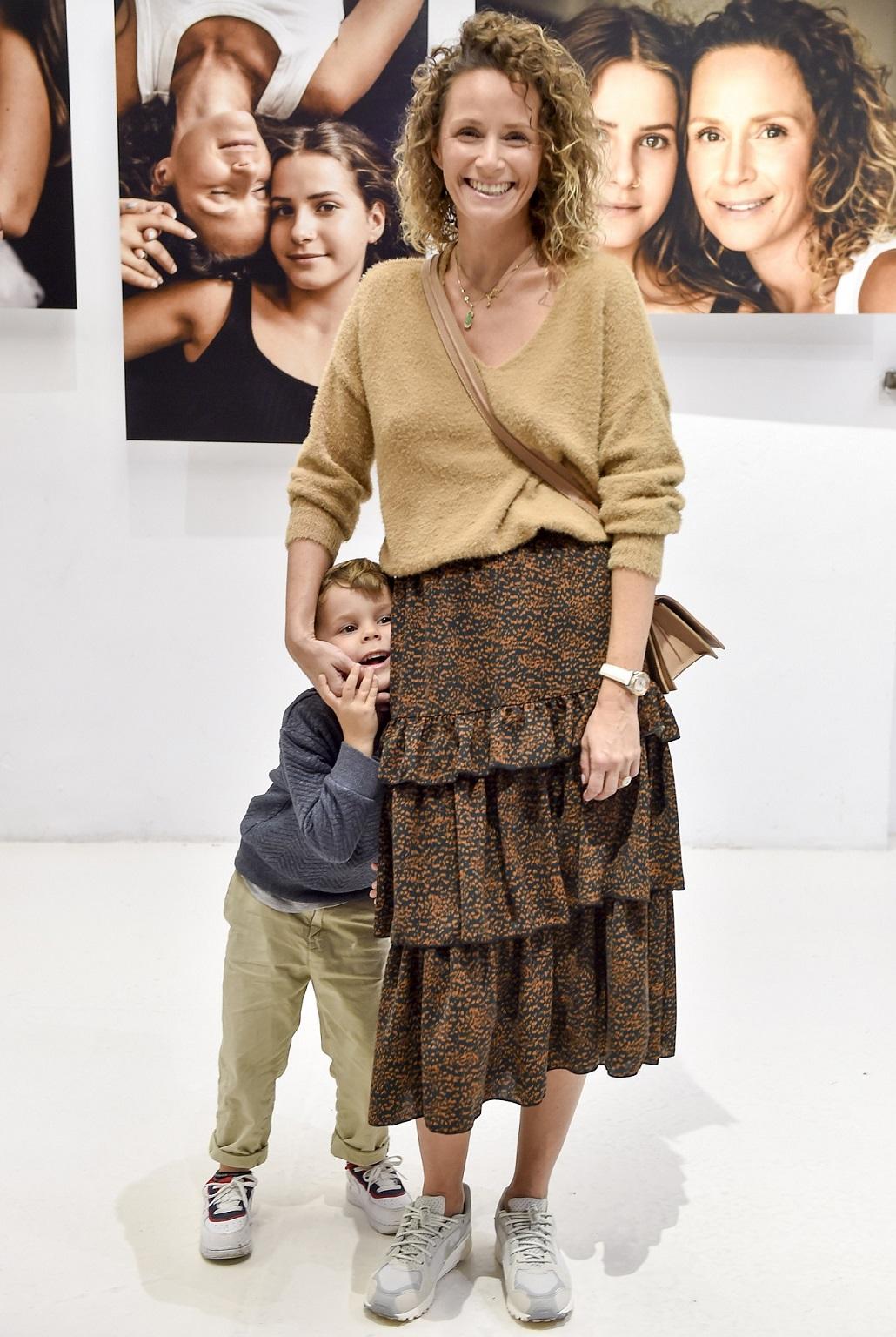 Monika Mrozowska z synkiem