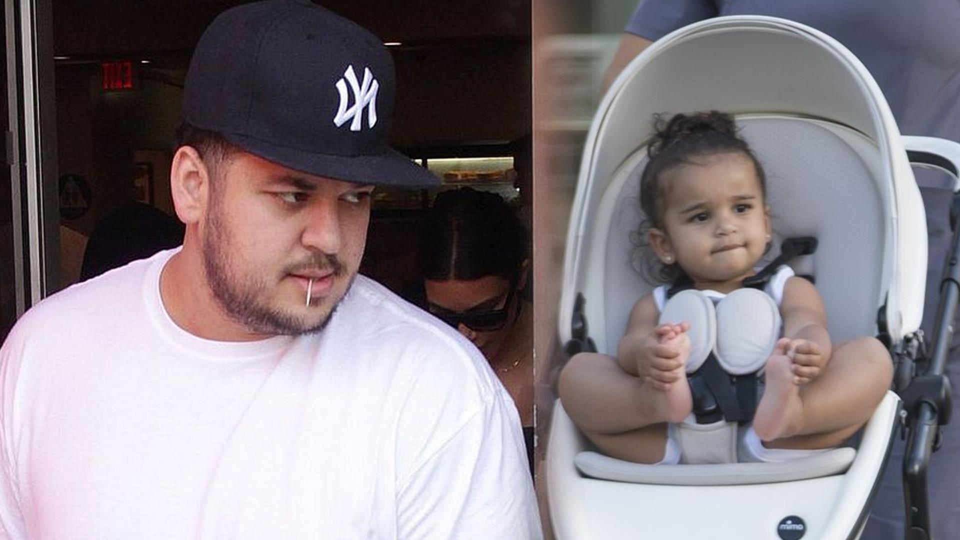 Córka Roba Kardashiana ma już prawie 4 lata – na Instagramie pojawiło się jej nowe zdjęcie