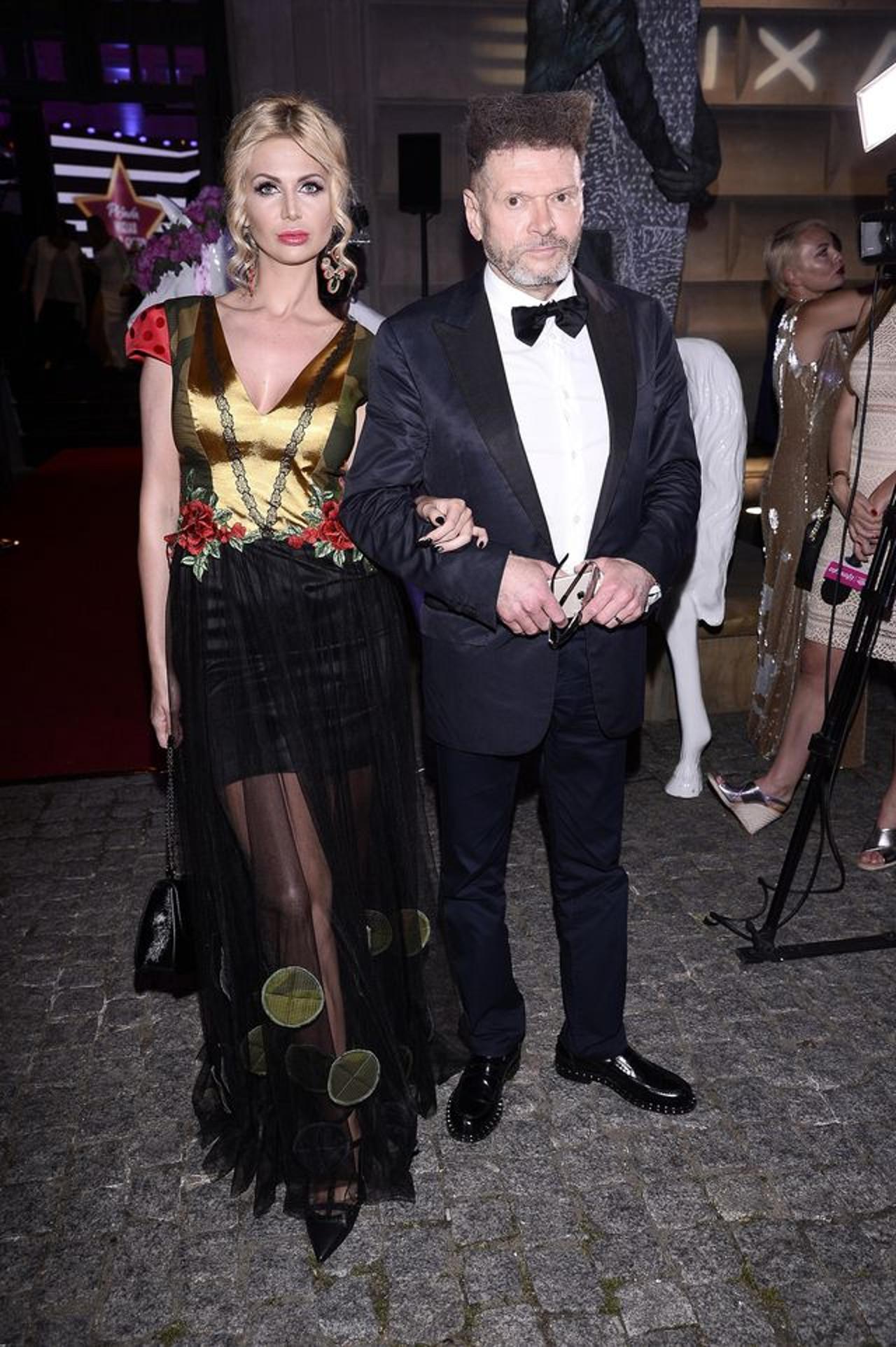 Maja Plich i Krzysztof Rutkowski razem na imprezie branżowej.