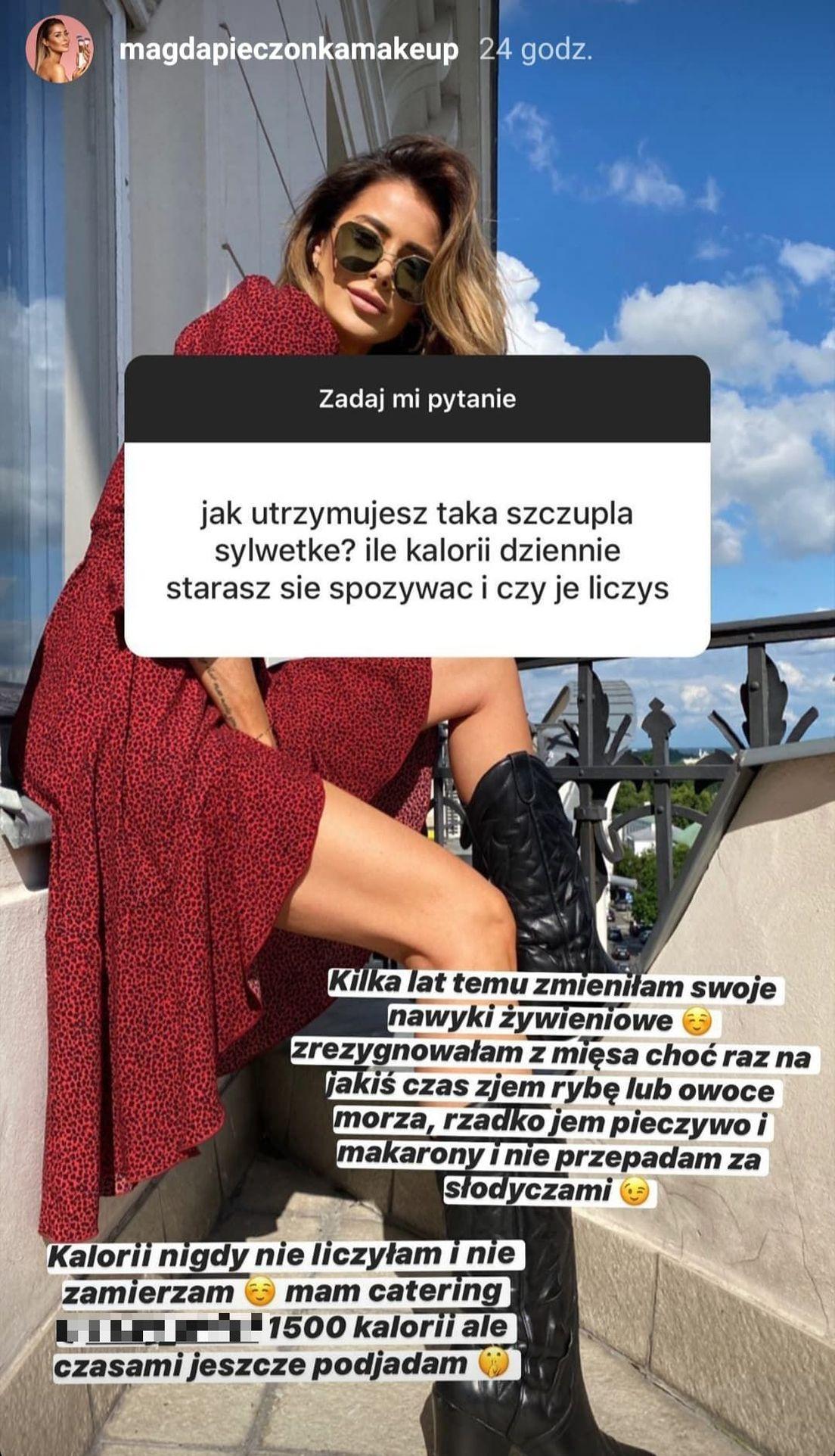 Magda Pieczonka zdradziła, jaką ma dietę