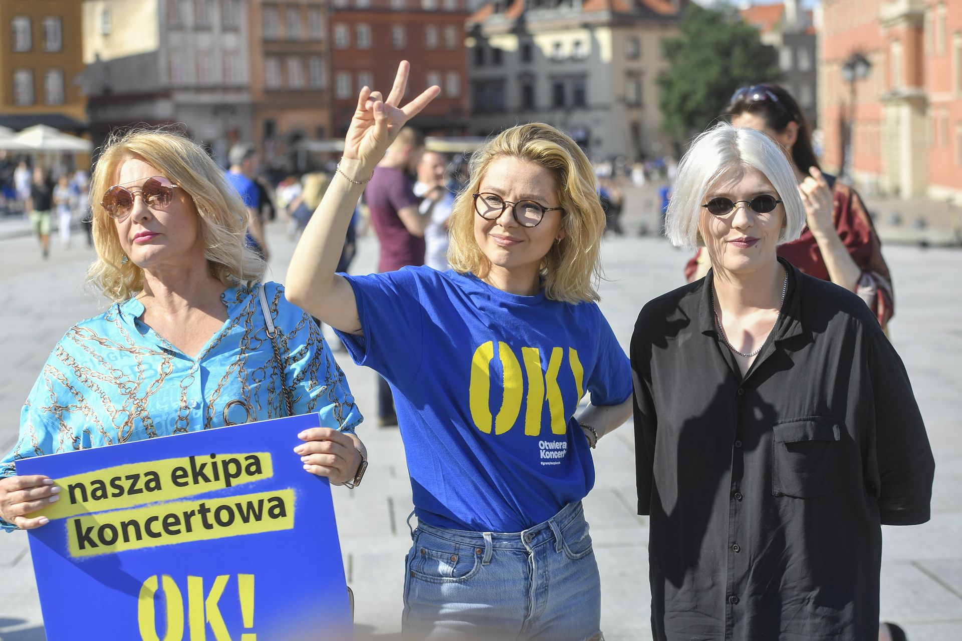 Anna Karwan, Majka Jeżowska, Daria Zawiałow