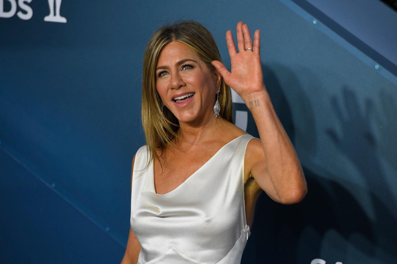 Jennifer Aniston na gali SAG Awards.